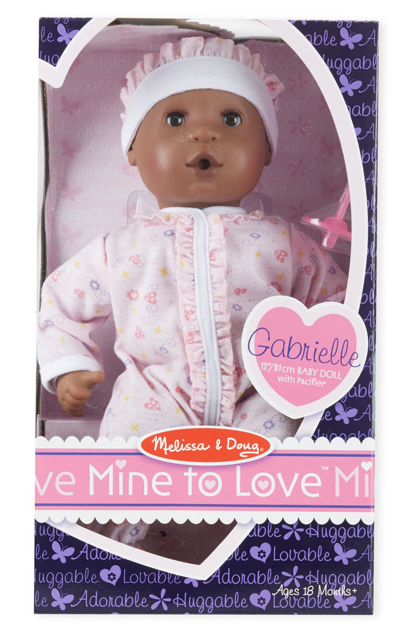 Main Image - Melissa & Doug 'Mine to Love - Gabrielle' Baby Doll