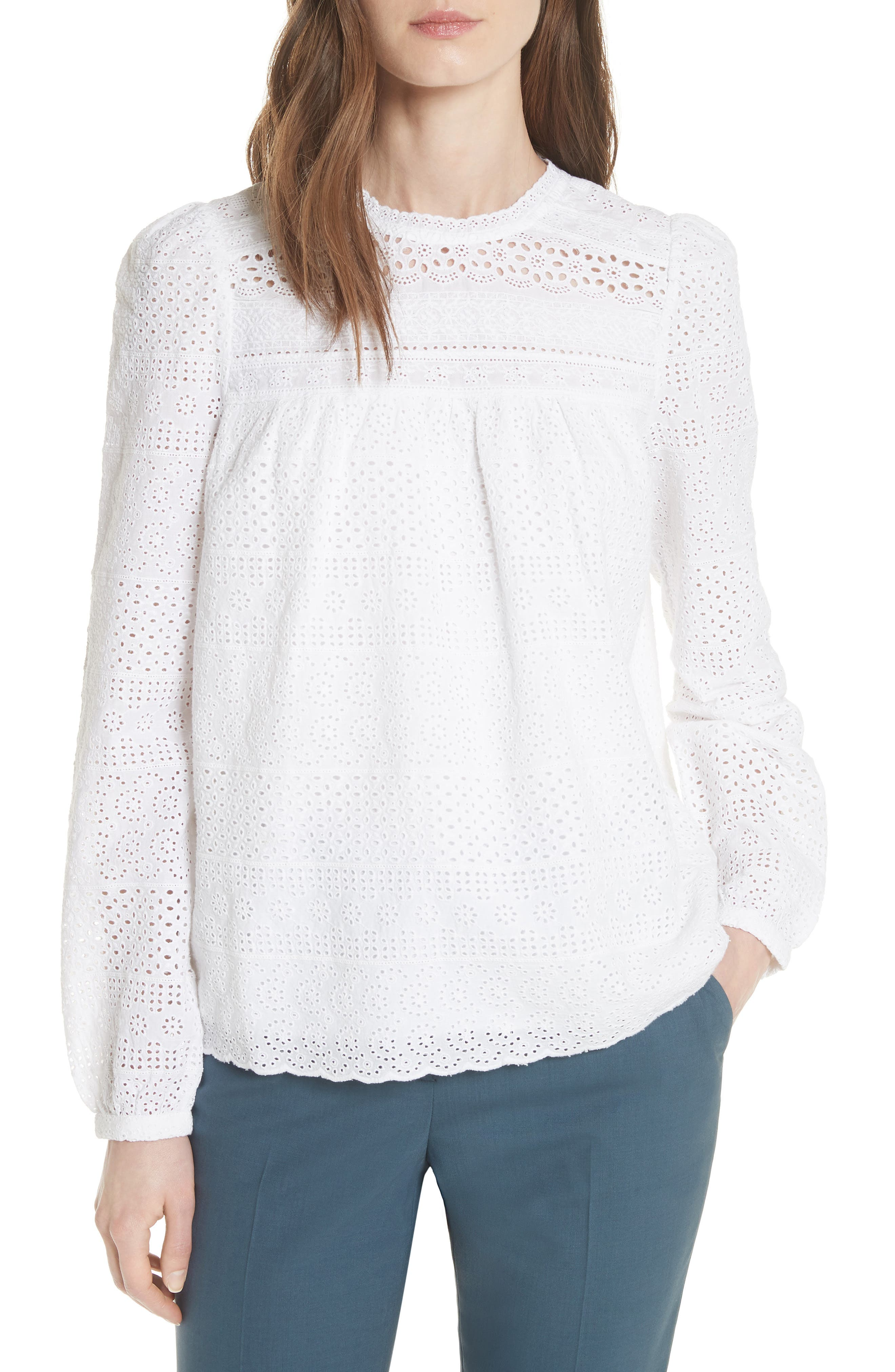 Needle & Thread Reverie Lace Top