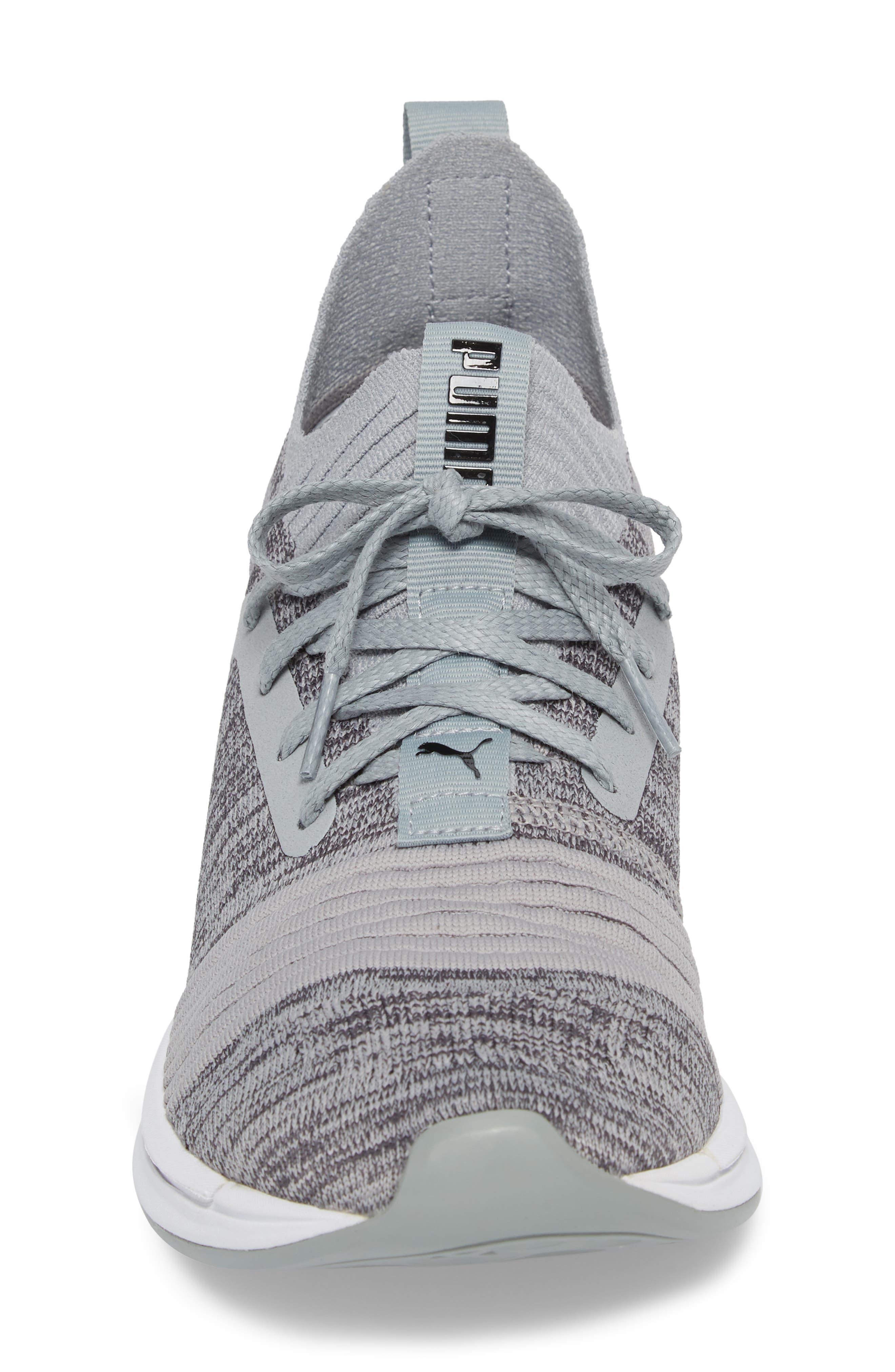 IGNITE Limitless SR evoKNIT Sneaker,                             Alternate thumbnail 4, color,                             Quarry