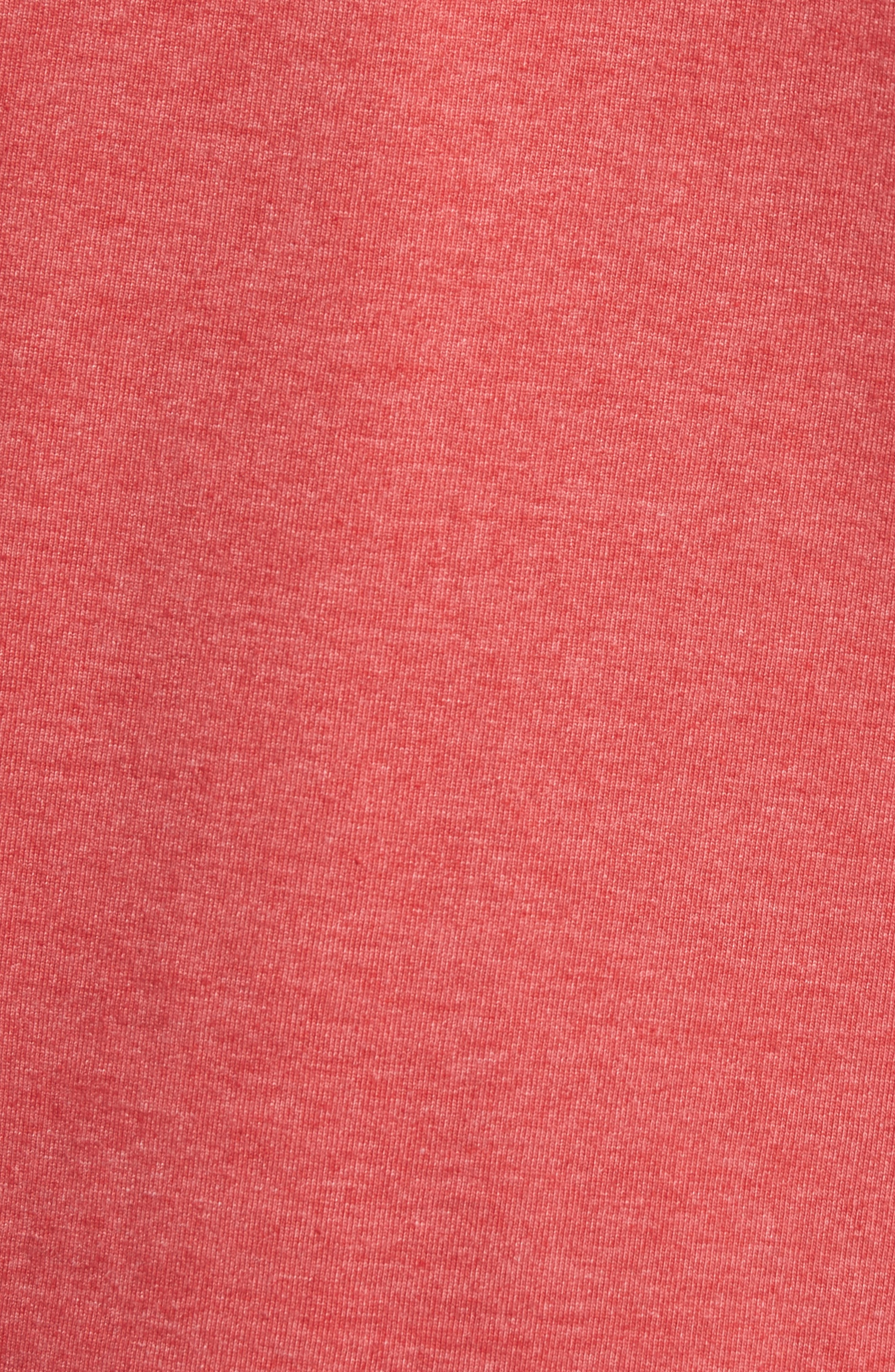 MFG Graphic T-Shirt,                             Alternate thumbnail 5, color,                             Red Heather