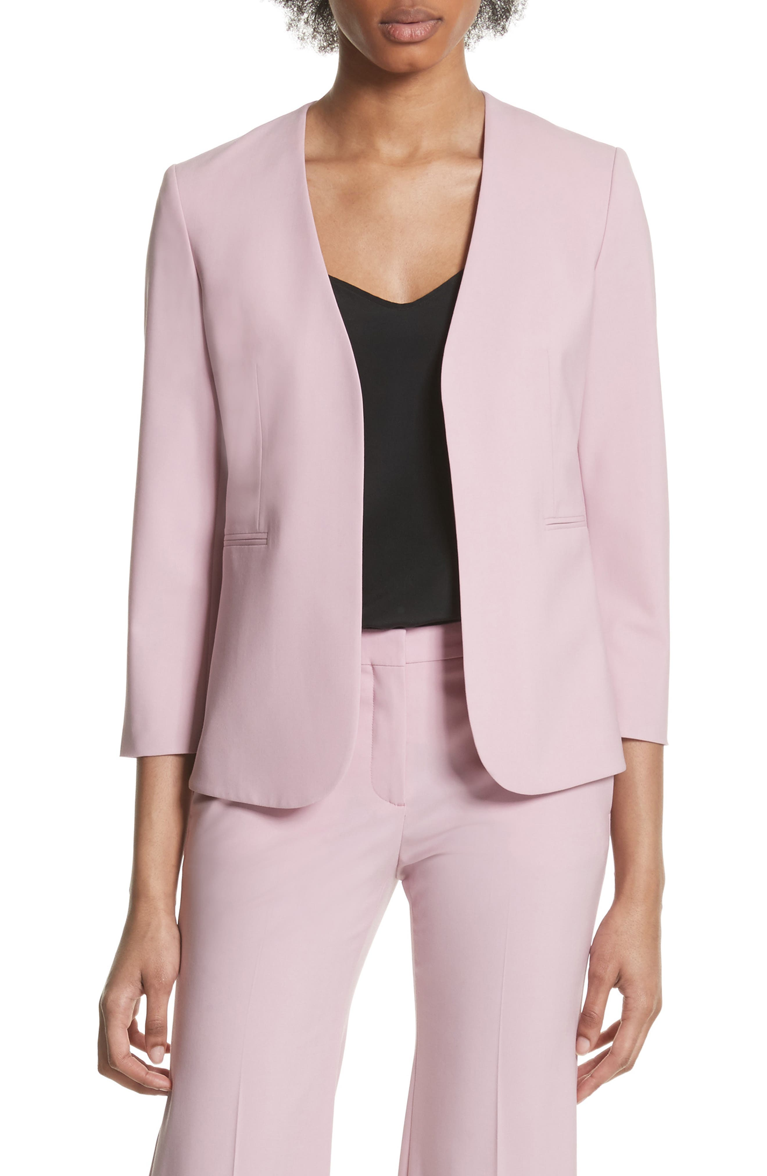 Lindrayia B Good Wool Suit Jacket,                         Main,                         color, Berry Tint