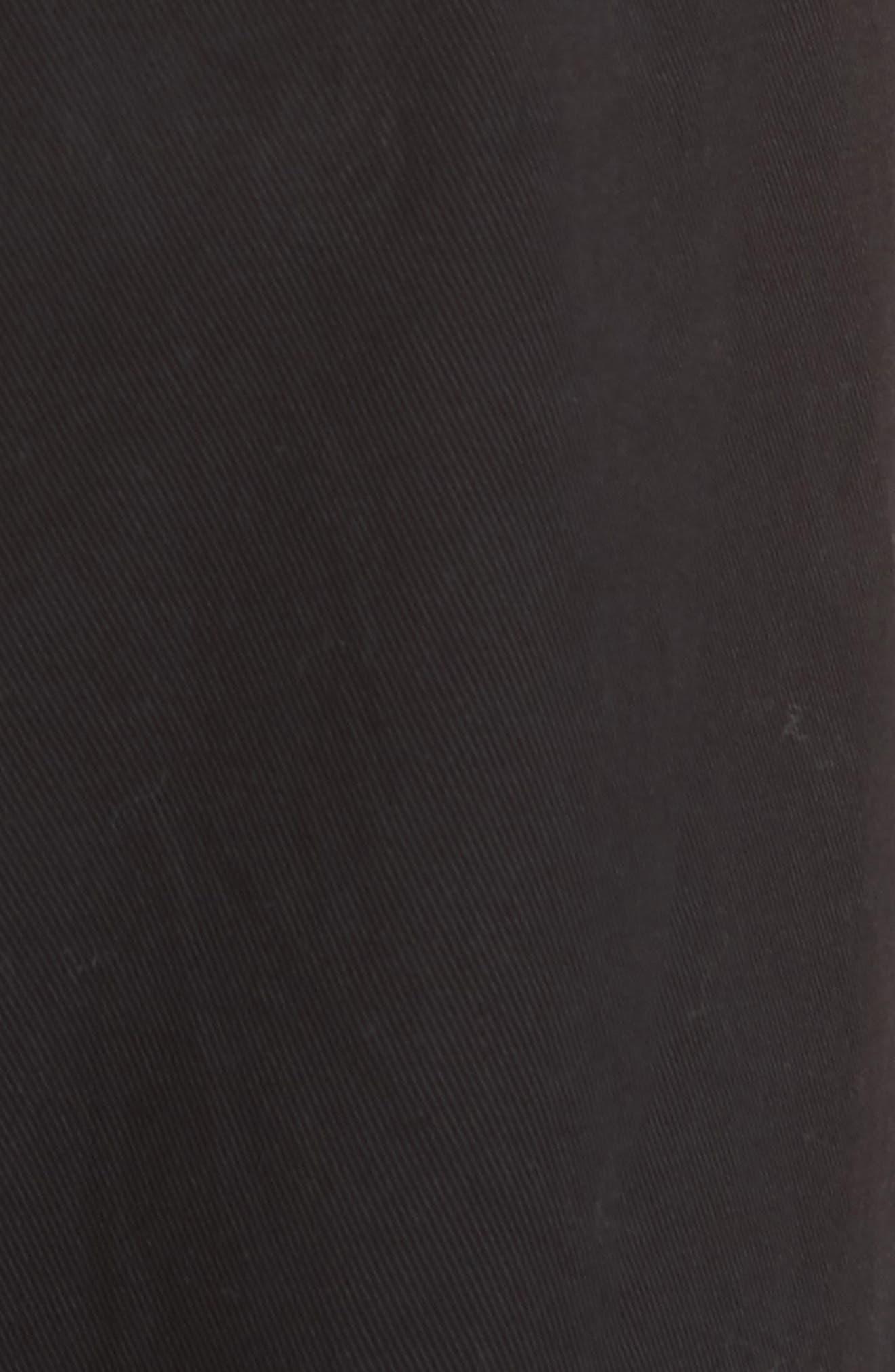 Pierce Crop Pants,                             Alternate thumbnail 5, color,                             Black