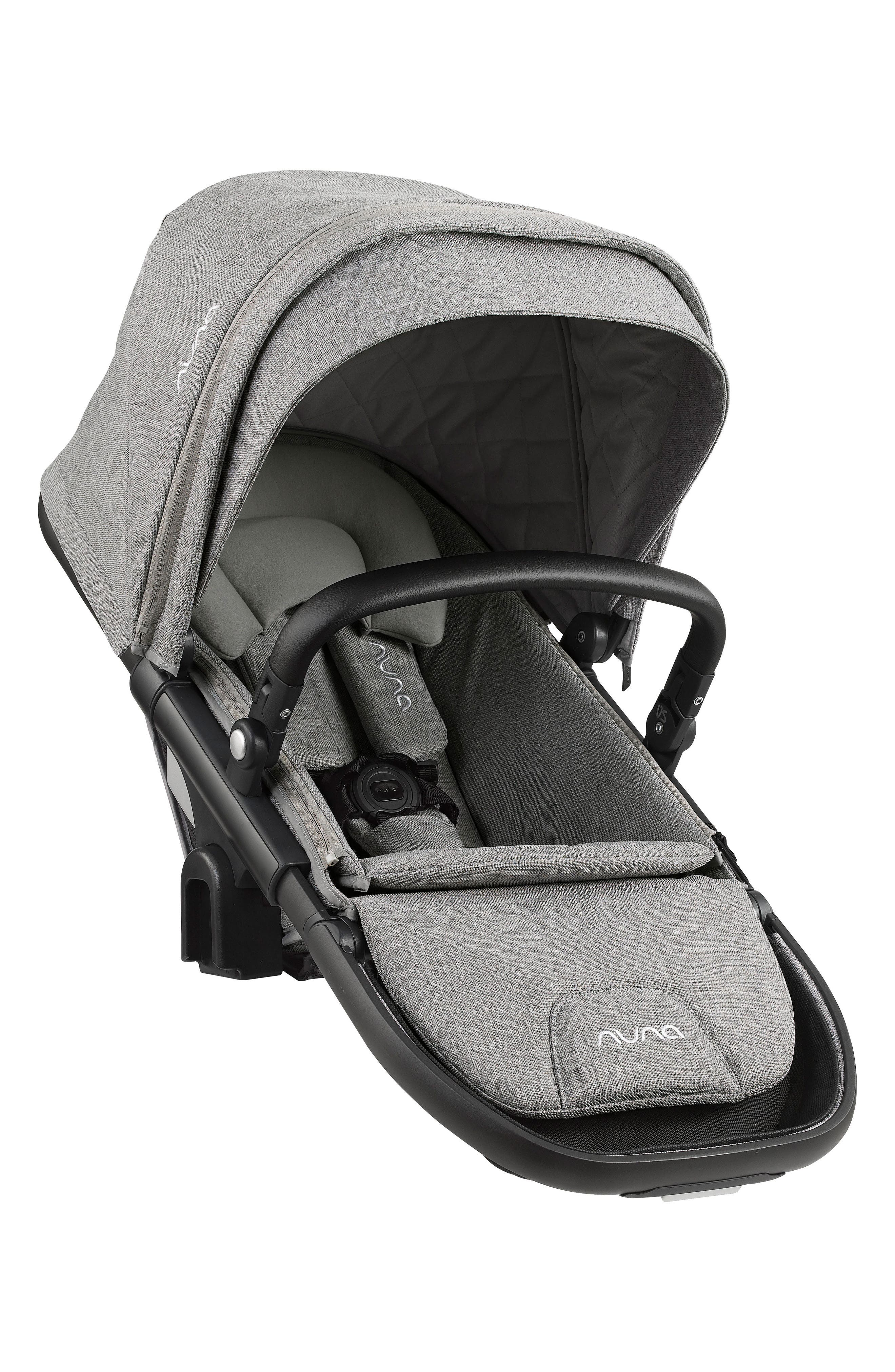 DEMI<sup>™</sup> Grow Sibling Seat Attachment for DEMI Grow Stroller,                         Main,                         color, Frost