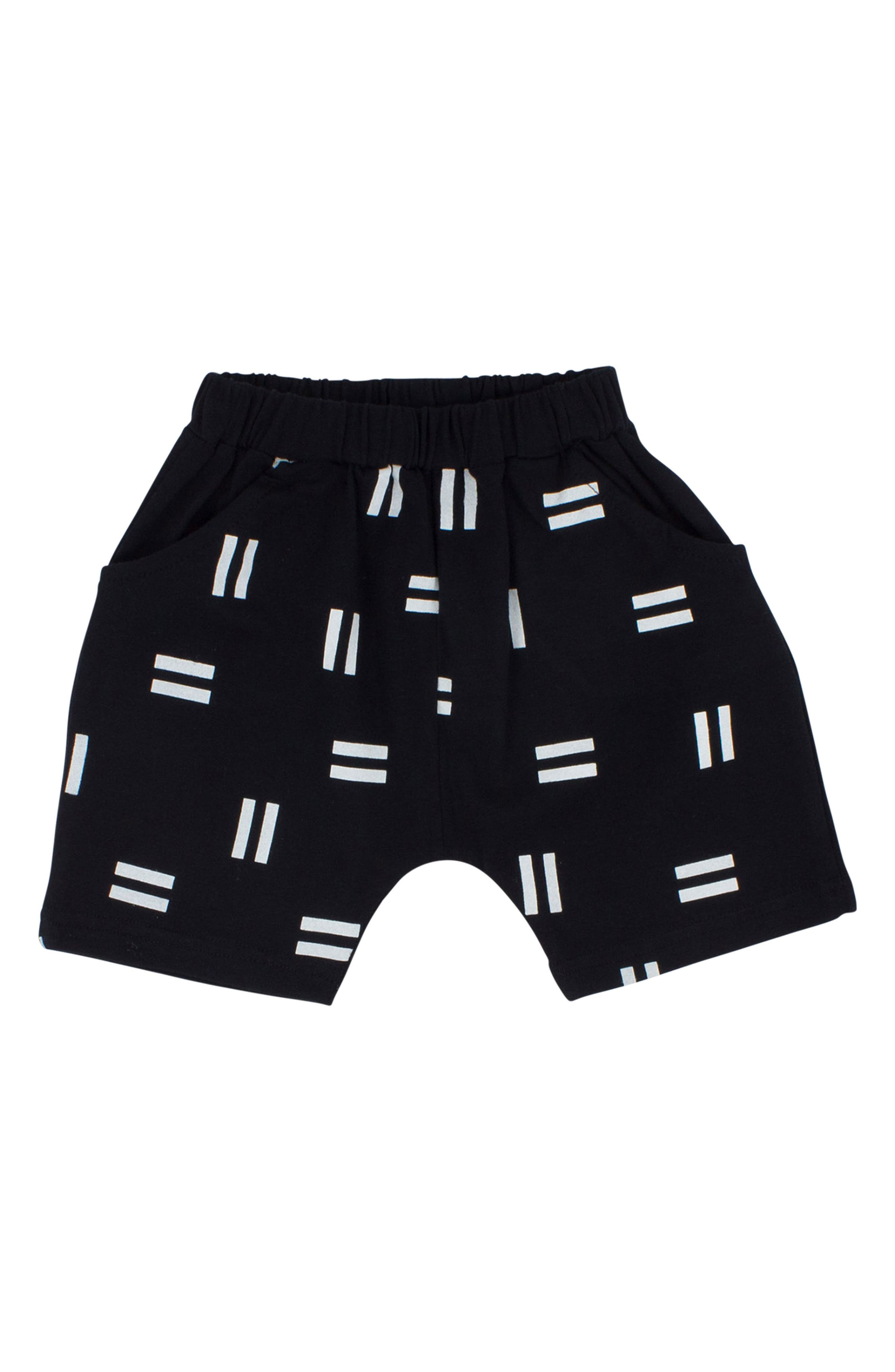 Pause Relaxed Shorts,                         Main,                         color, Black