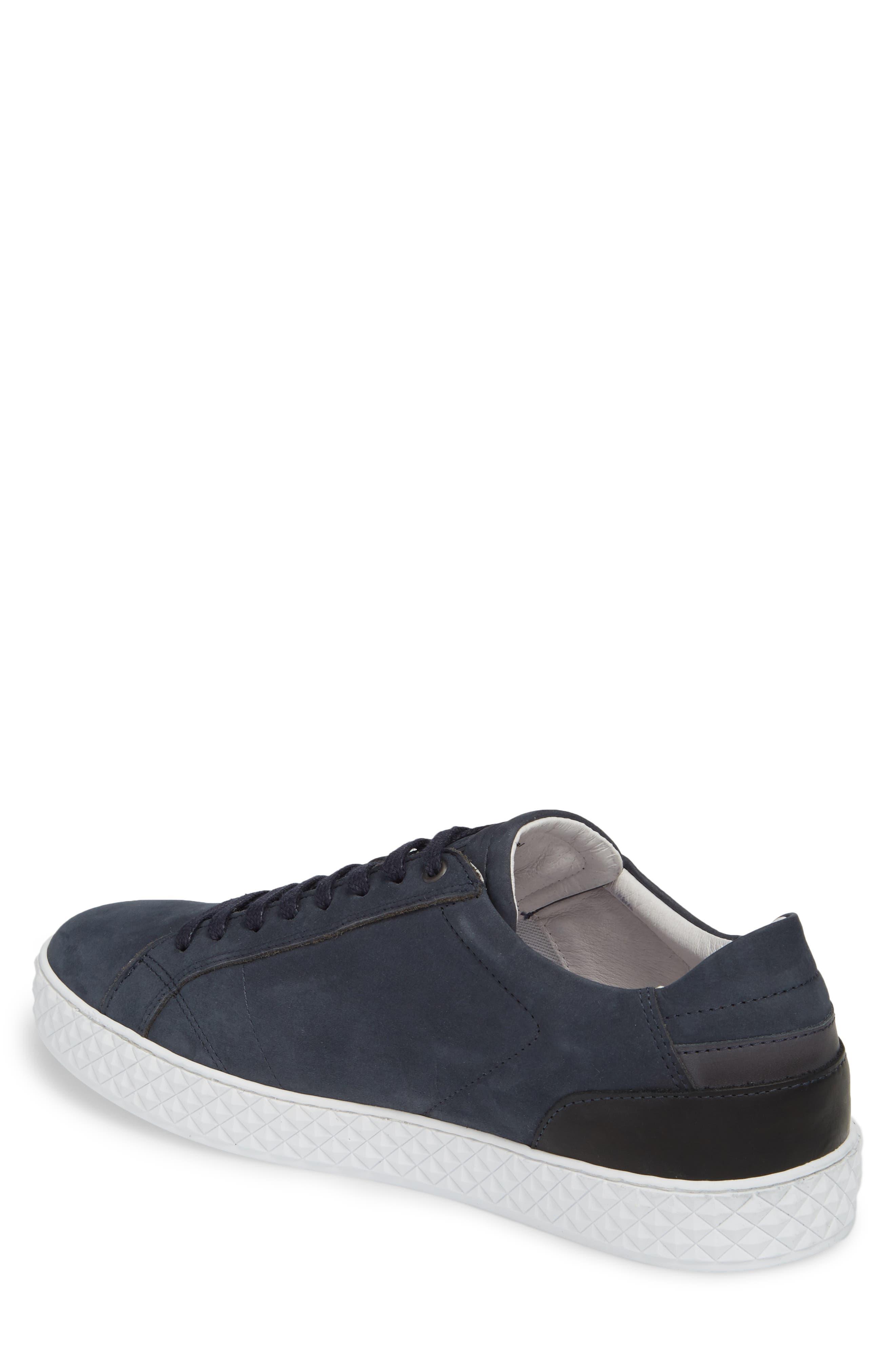 Bratislava Low Top Sneaker,                             Alternate thumbnail 2, color,                             Navy Leather