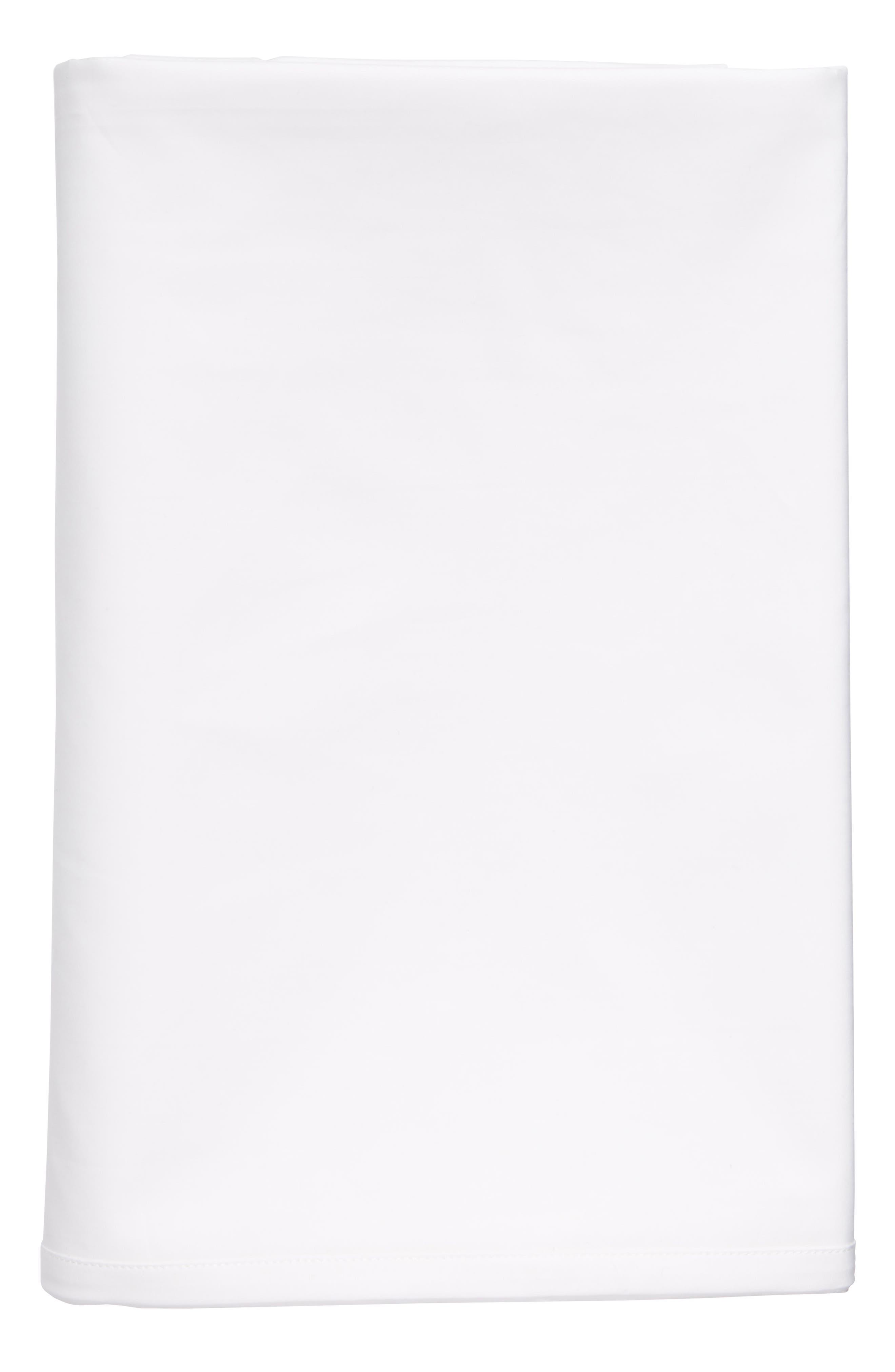 Main Image - Calvin Klein Home Clone 400 Thread Count Flat Sheet