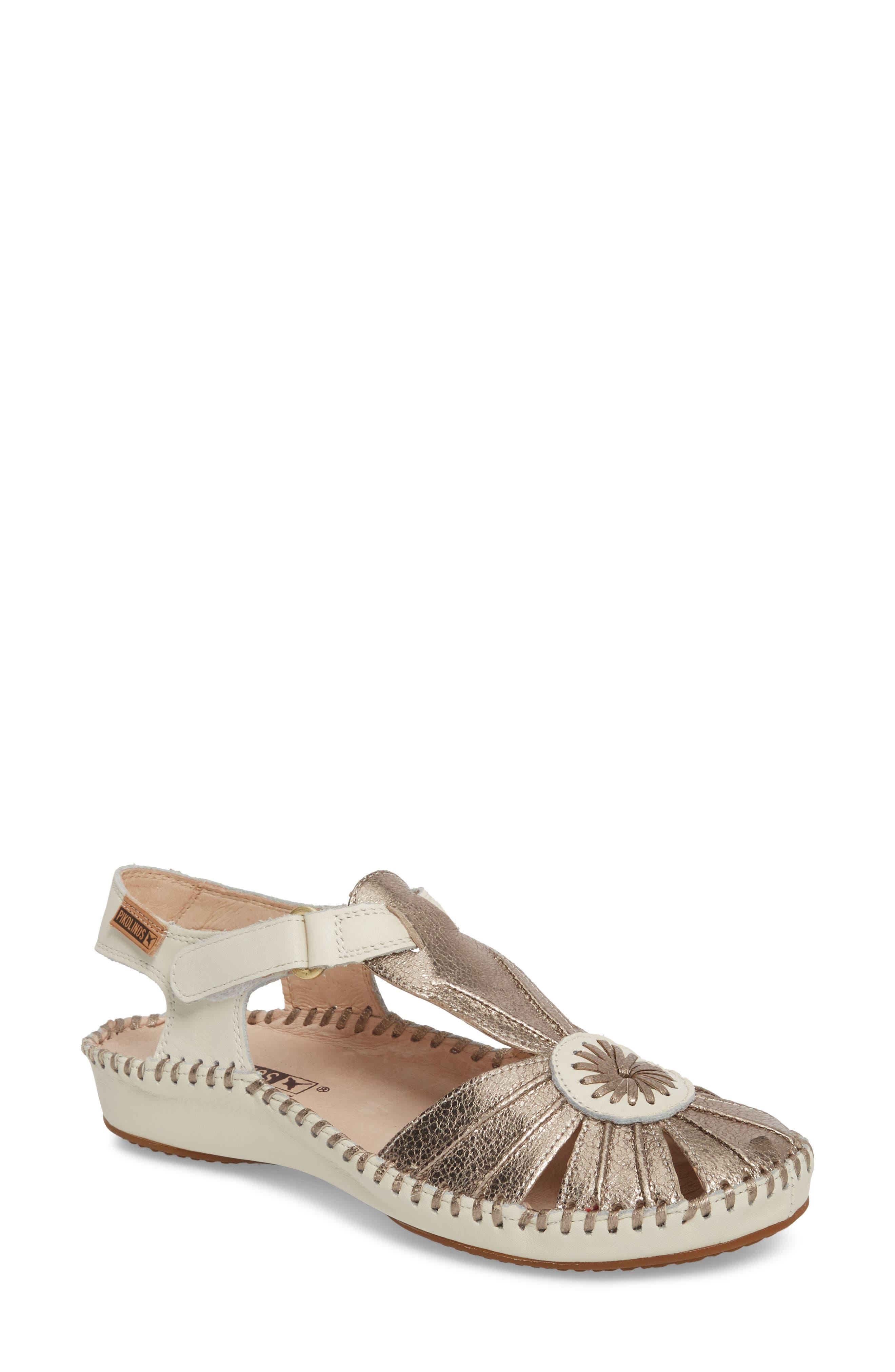 PIKOLINOS 'P. Vallerta' Leather Flat (Women)