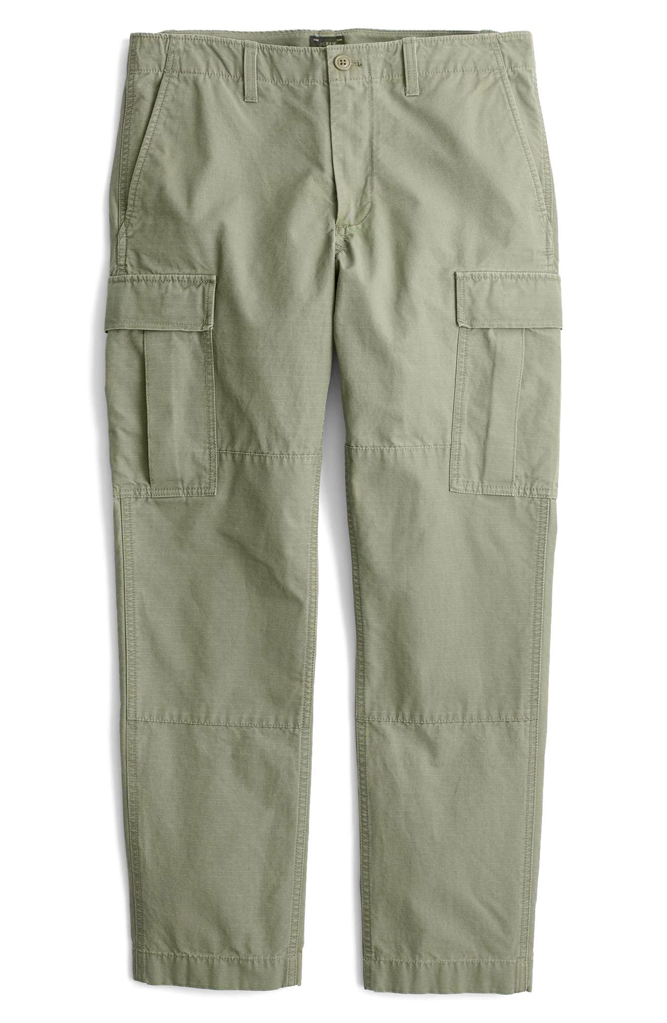 Alternate Image 4  - J.Crew 770 Straight Fit Ripstop Cargo Pants