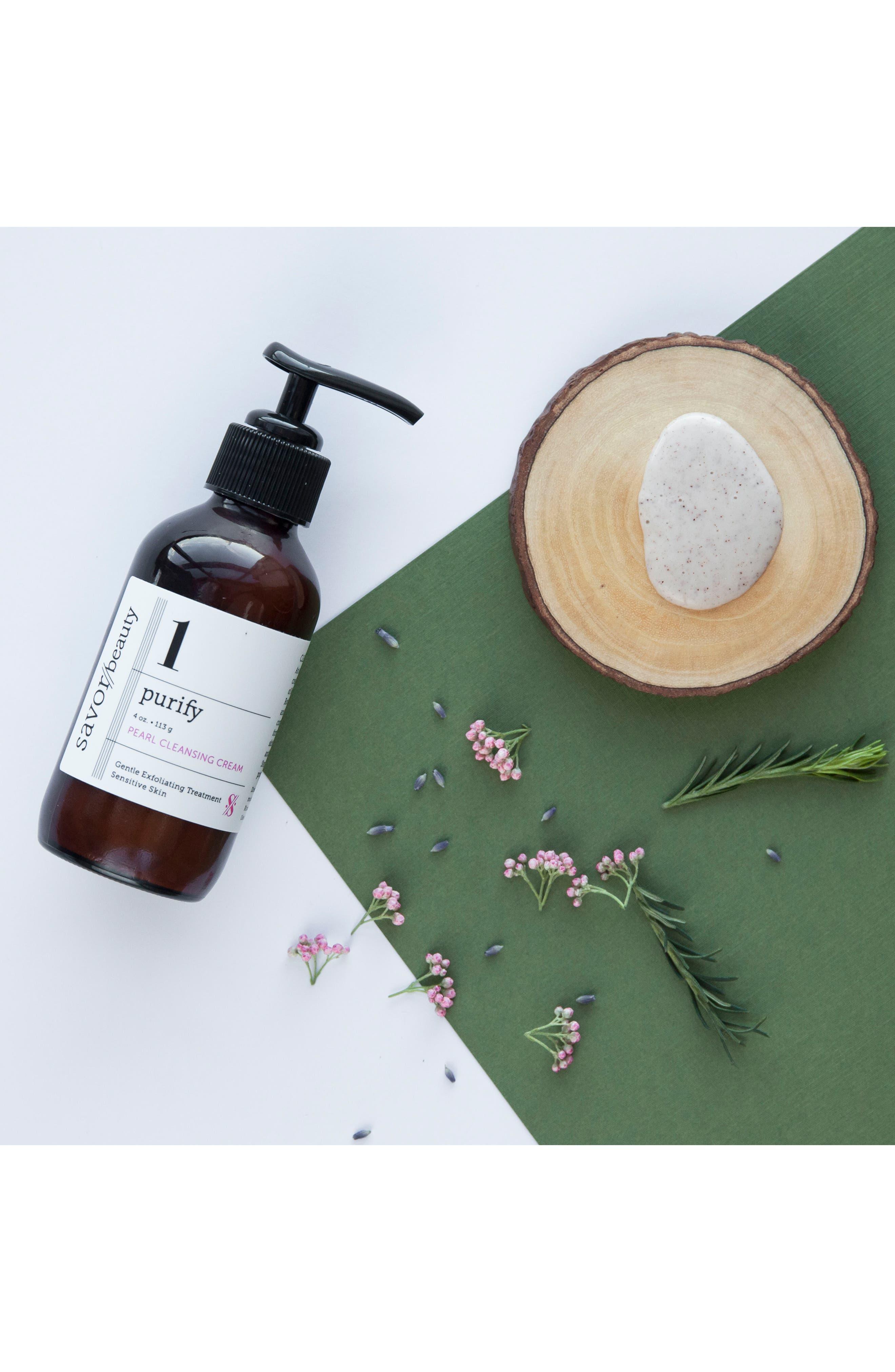 Alternate Image 3  - Savor Beauty Pearl Cleansing Cream