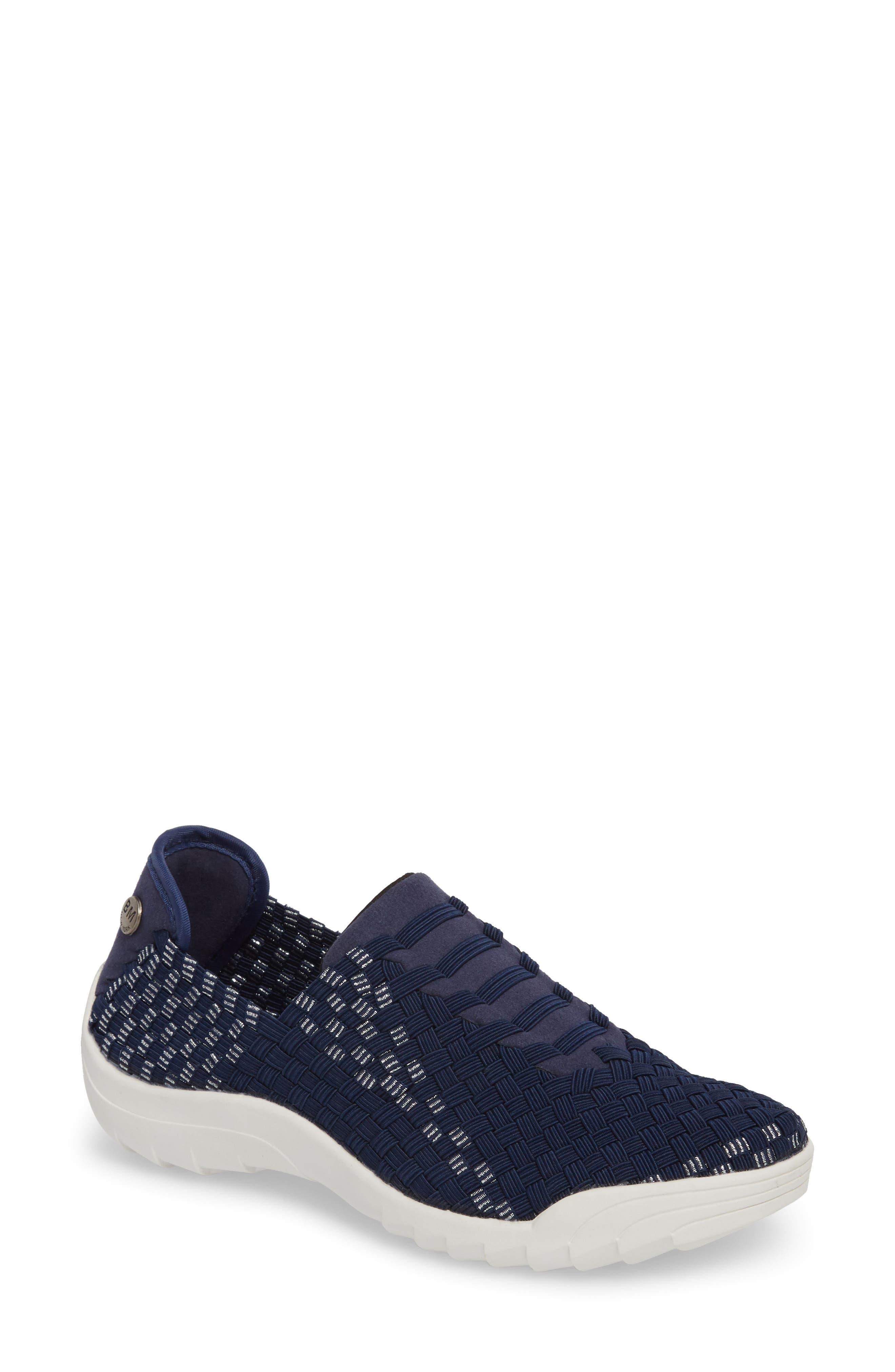 Rigged Vivaldi Slip-On Sneaker,                         Main,                         color, Navy Lurex