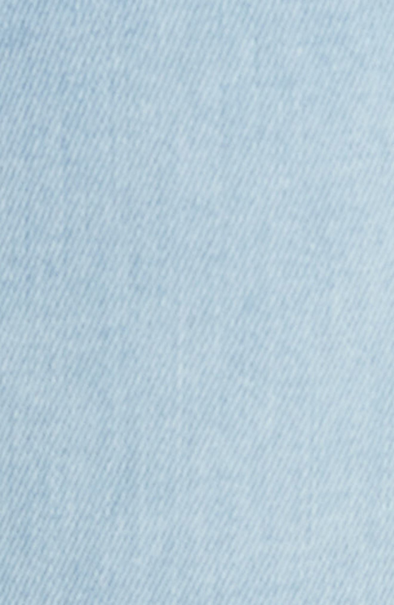 Mara Skinny Jeans,                             Alternate thumbnail 5, color,                             Blue