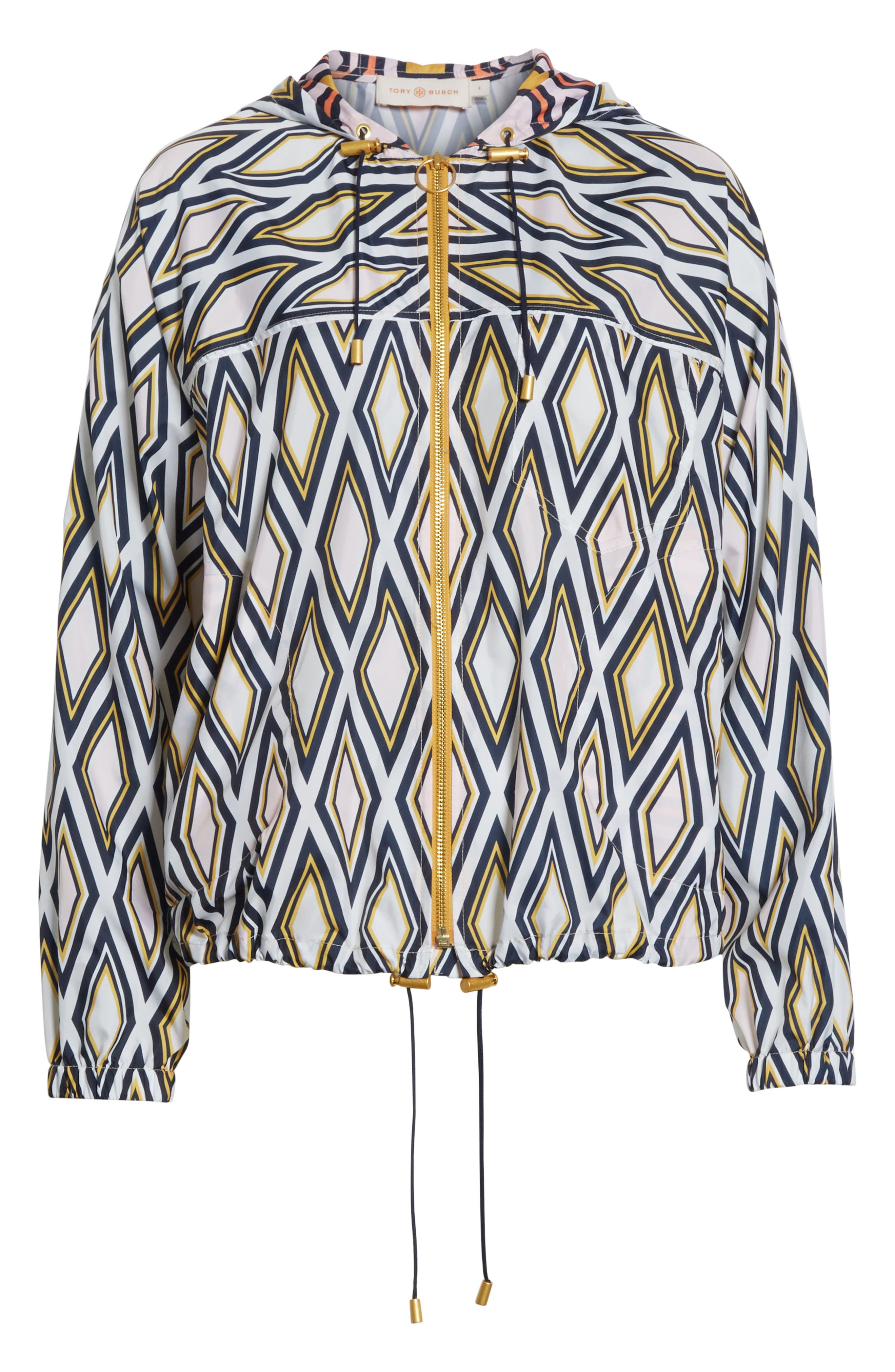 Devon Hooded Jacket,                             Alternate thumbnail 6, color,                             Solitaire Diamond