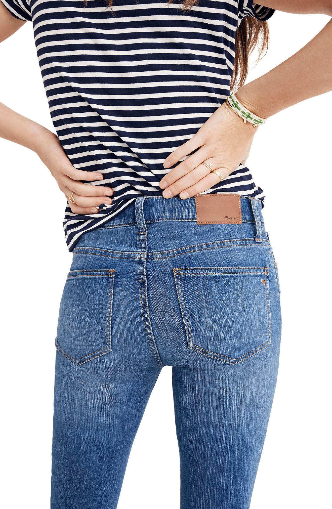 Roadtripper Crop Skinny Jeans,                             Alternate thumbnail 2, color,                             Declan Wash