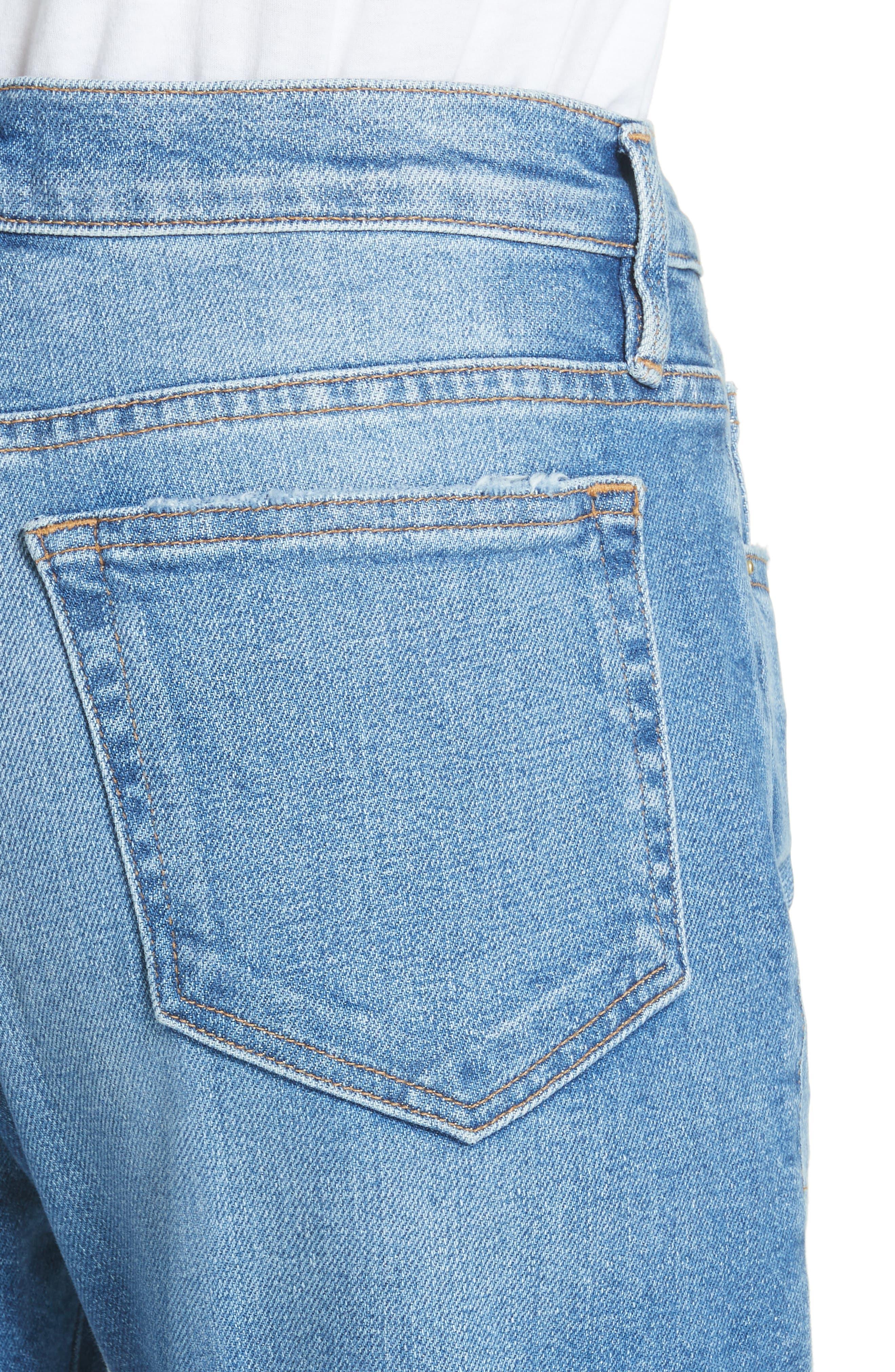Le Boy Jeans,                             Alternate thumbnail 4, color,                             Inhuist