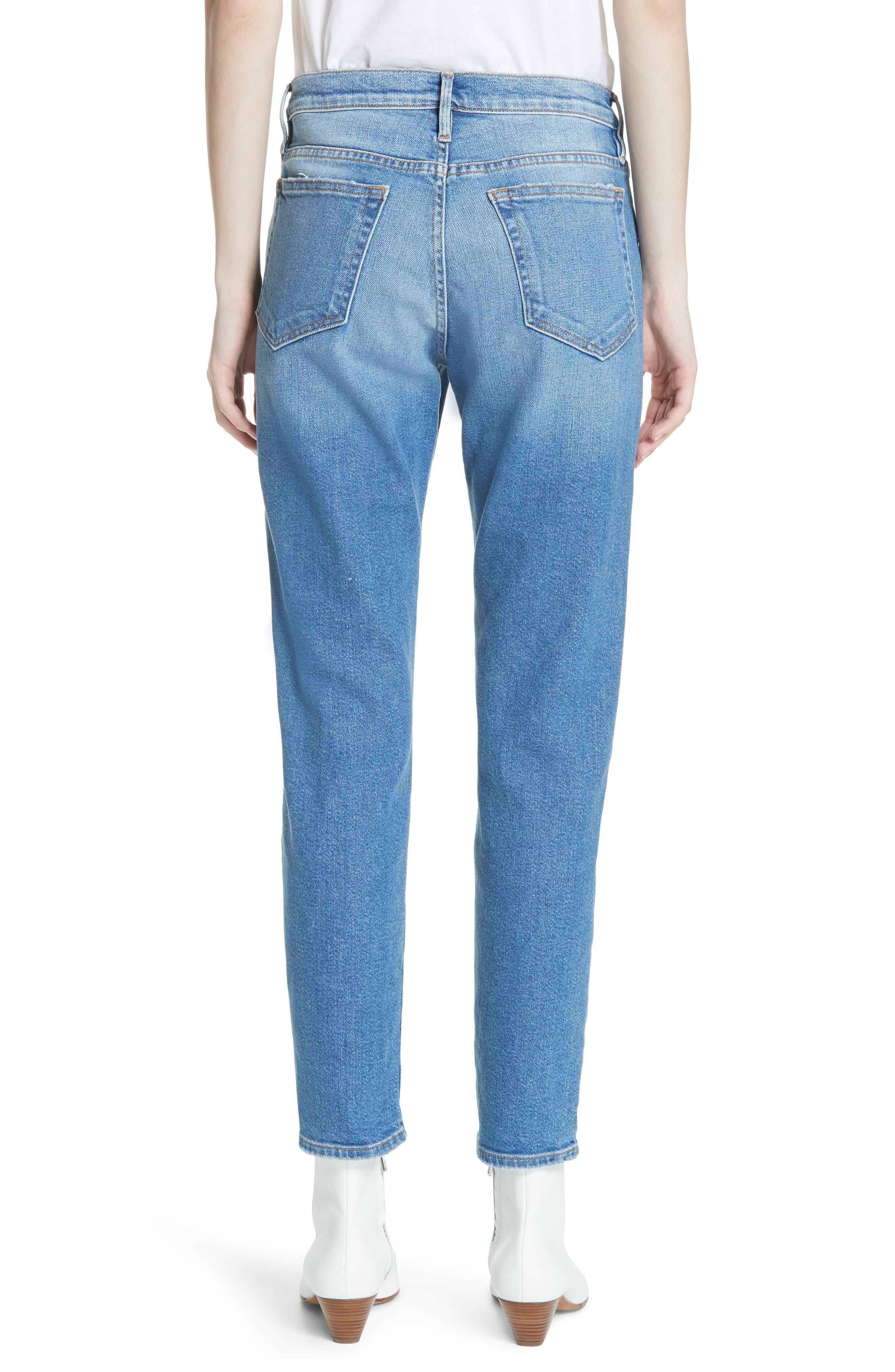 Le Boy Jeans,                             Alternate thumbnail 2, color,                             Inhuist