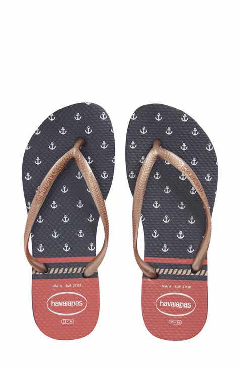 Havaianas Slim Nautical Flip Flop (Women)