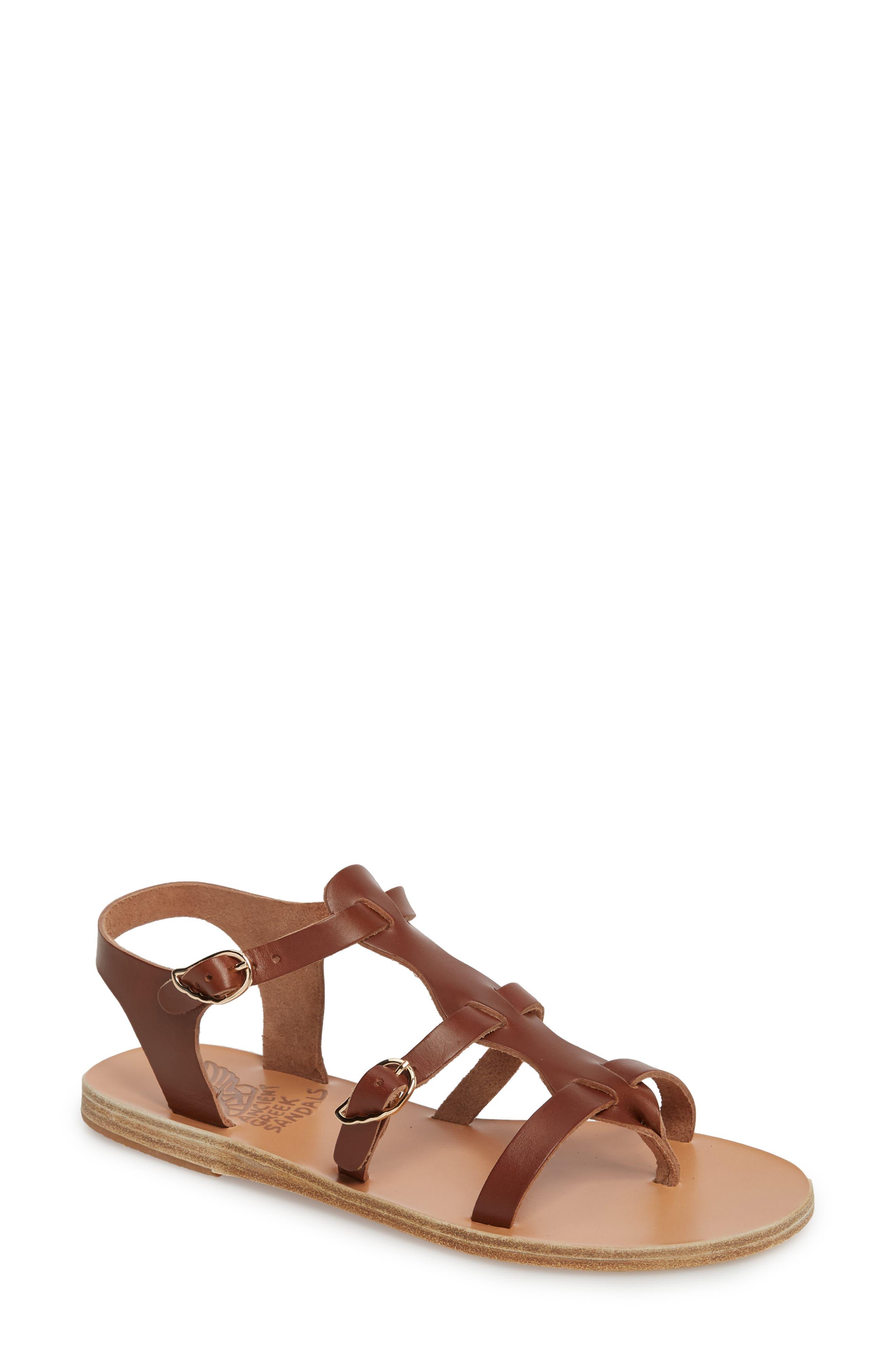T-Strap Sandal,                         Main,                         color, Cotto