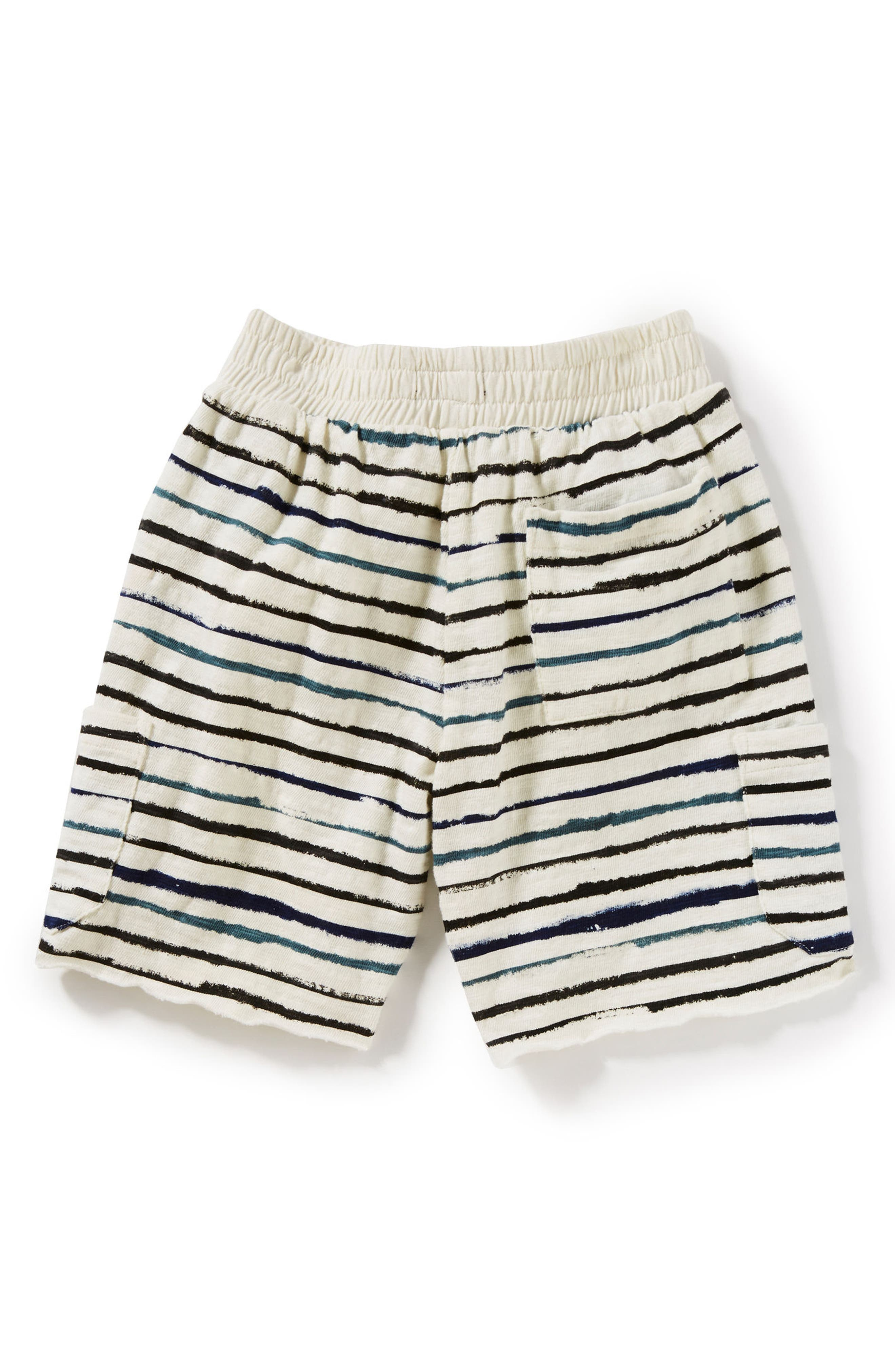 Alternate Image 2  - Peek Asher Stripe Shorts (Toddler Boys, Little Boys & Big Boys)