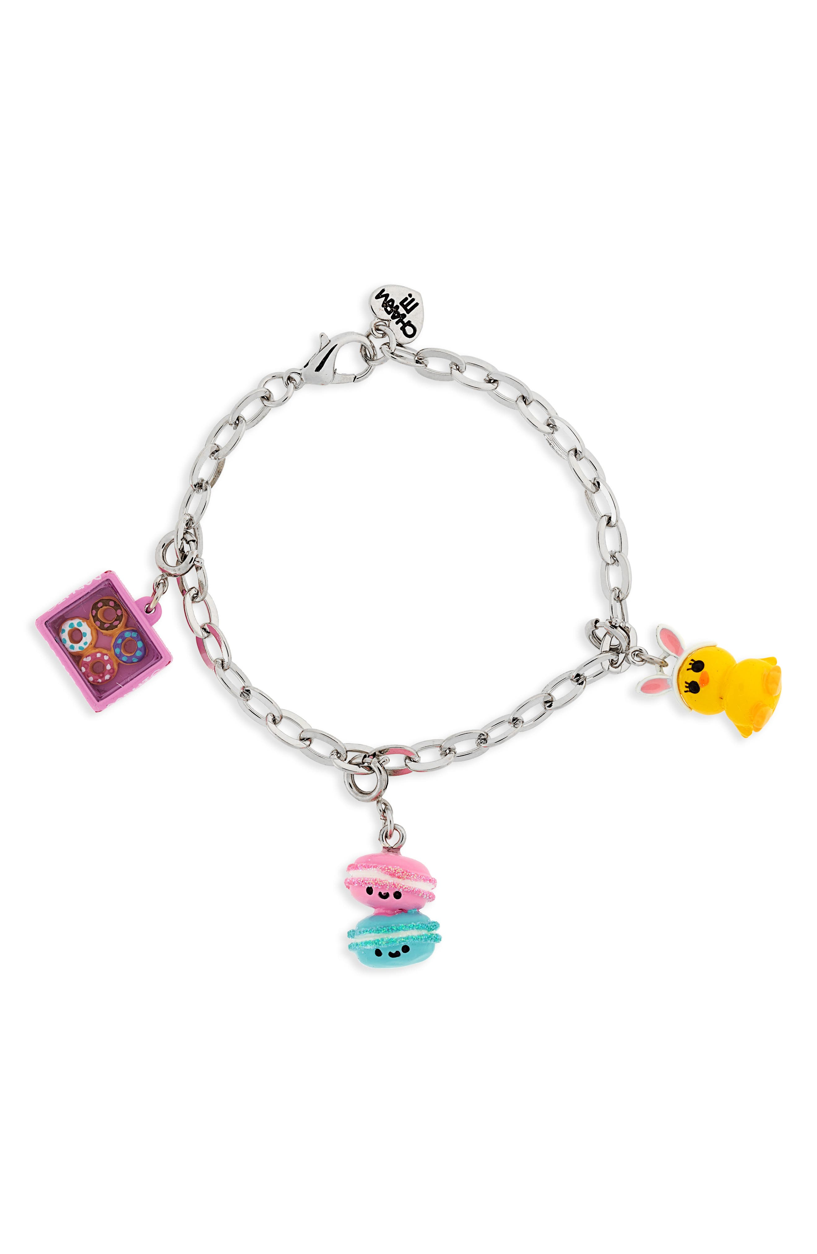 CHARM IT!<sup>®</sup> Easter Sweets Charm Bracelet Gift Set,                             Alternate thumbnail 3, color,                             Multi