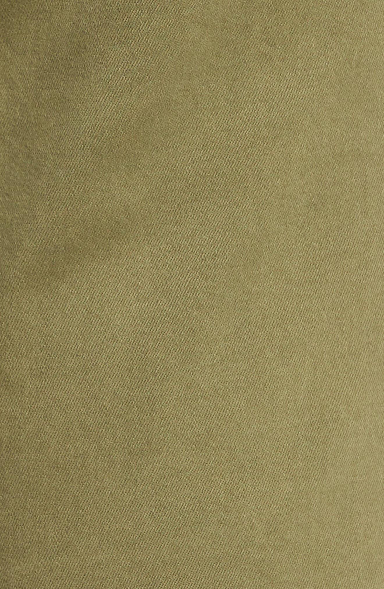 Natalie Bermuda Shorts,                             Alternate thumbnail 6, color,                             Olive
