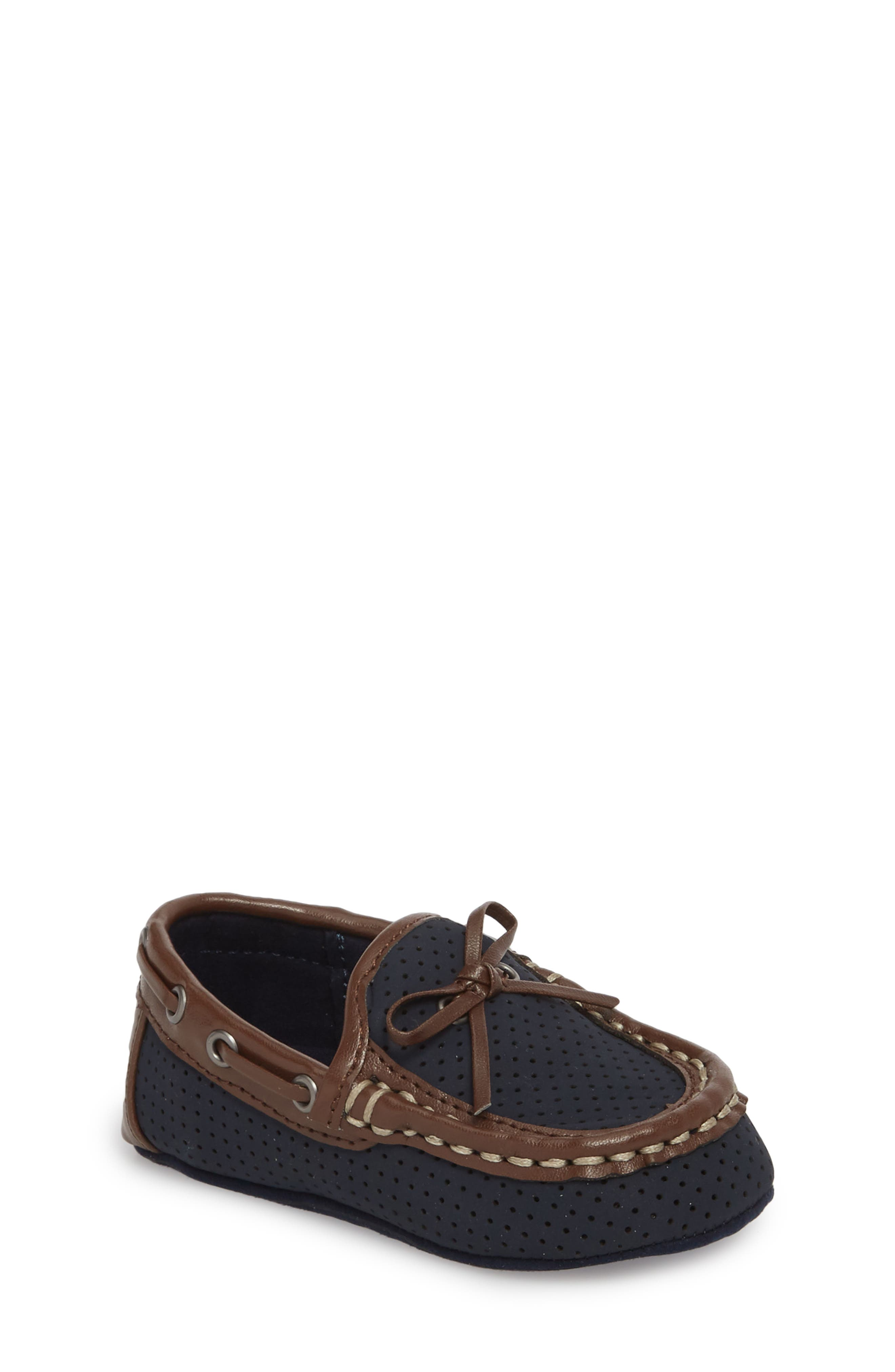 Kenneth Cole New York Boat Shoe (Baby)