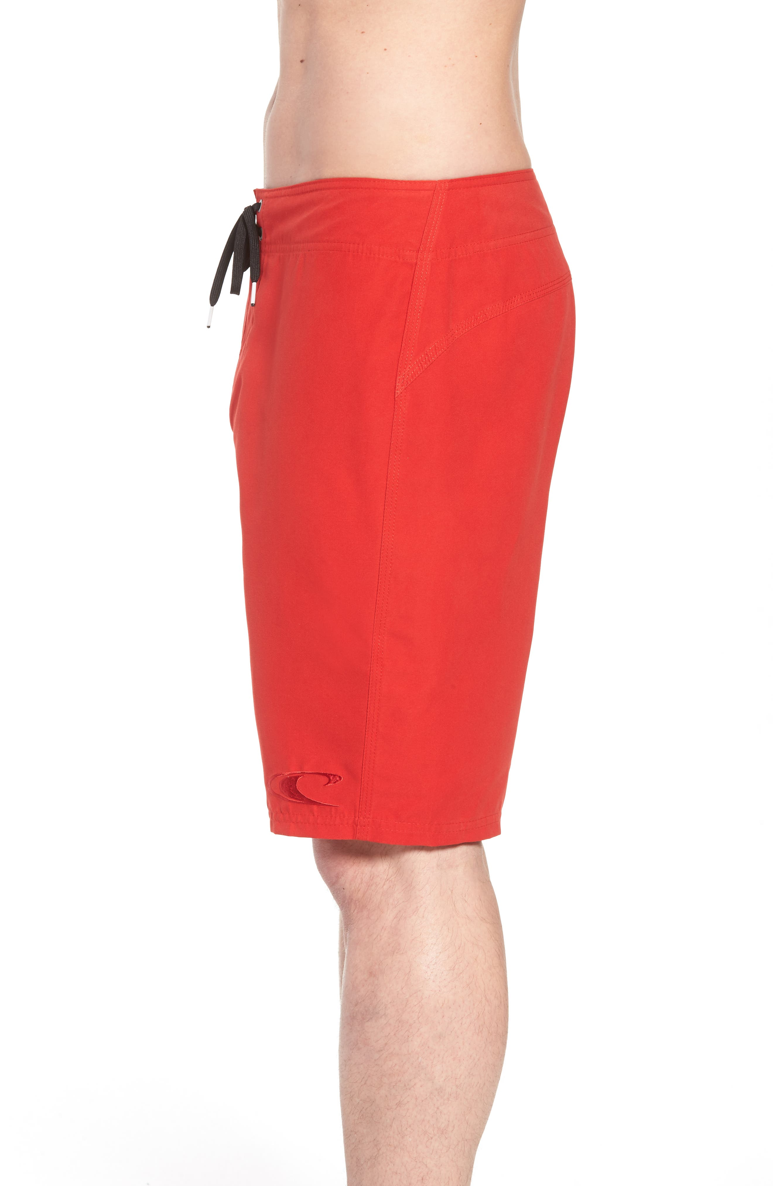 Santa Cruz Board Shorts,                             Alternate thumbnail 3, color,                             Red