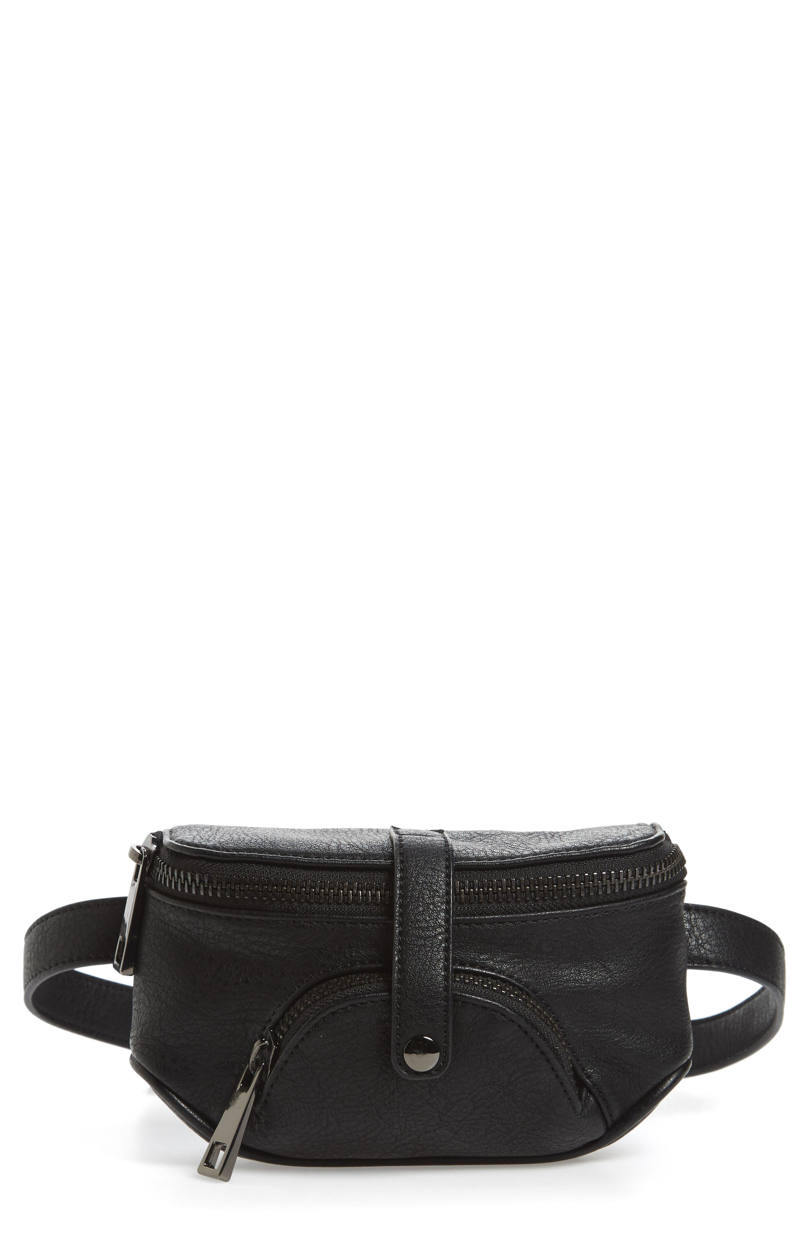 Malibu Skye Faux Leather Belt Bag