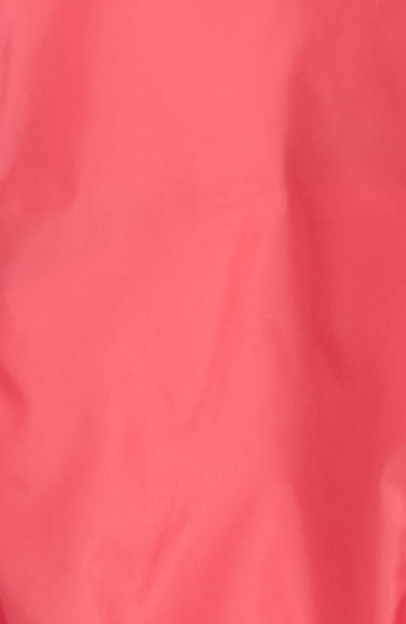 Poema Jersey Lined Hooded Windbreaker,                             Alternate thumbnail 2, color,                             Dark Rose