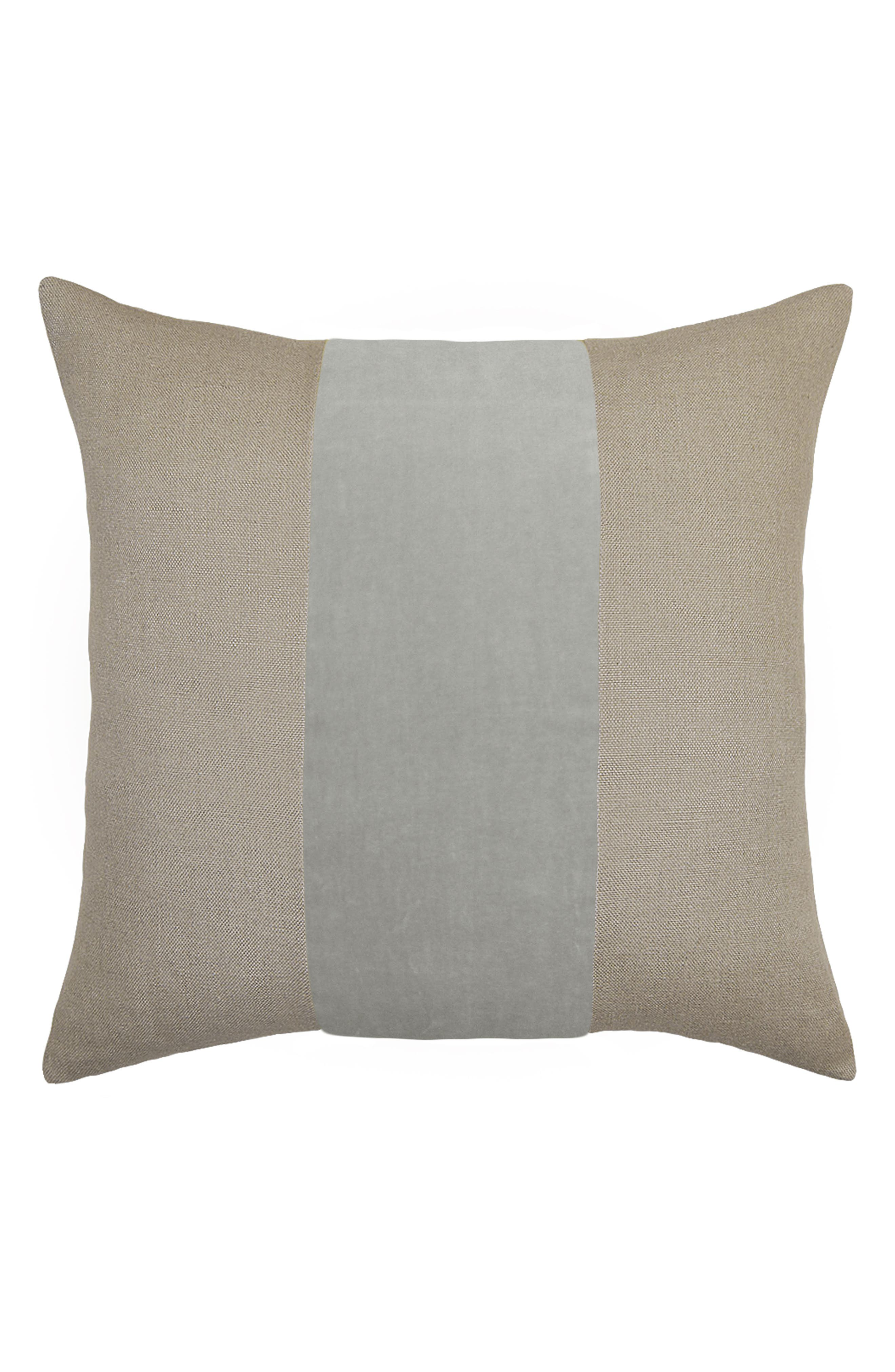 Square Feathers Ming Birch Accent Pillow