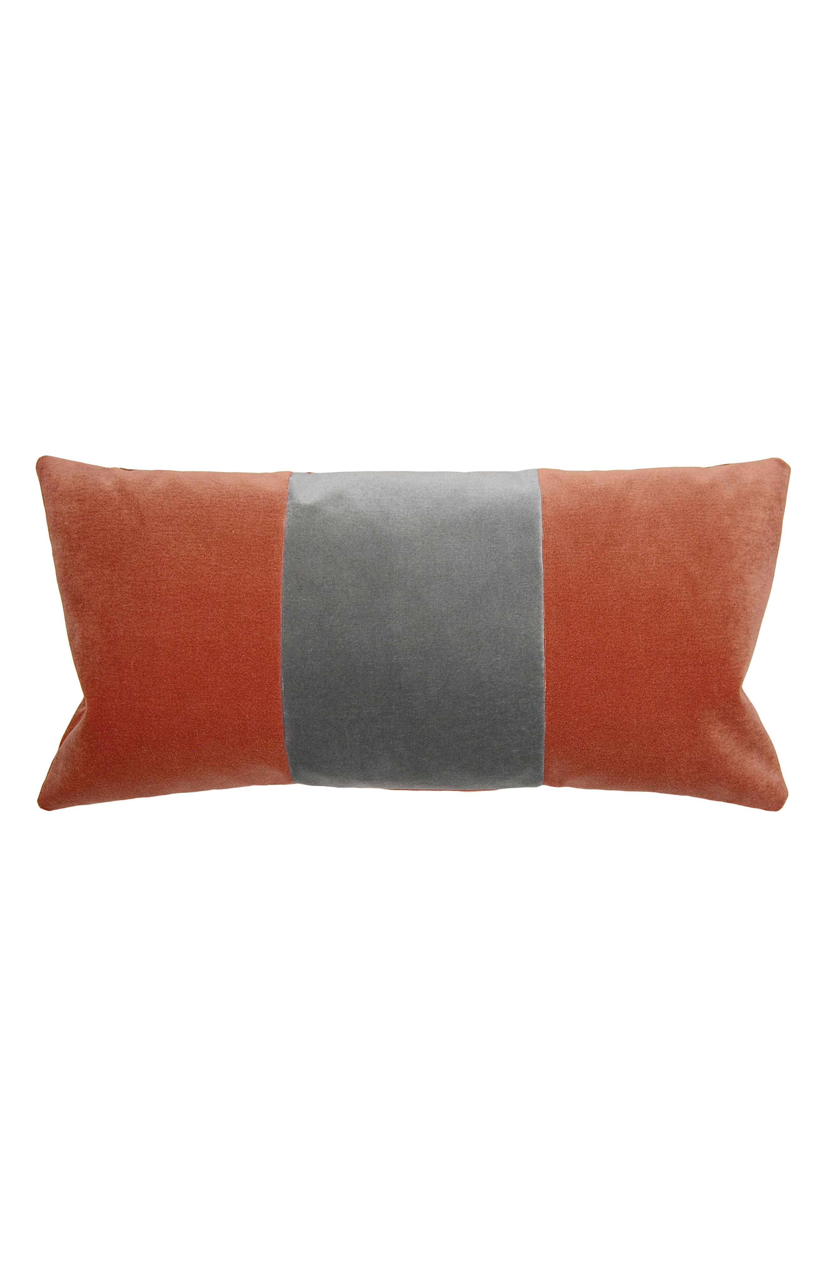 Square Feathers Tang Accent Pillow