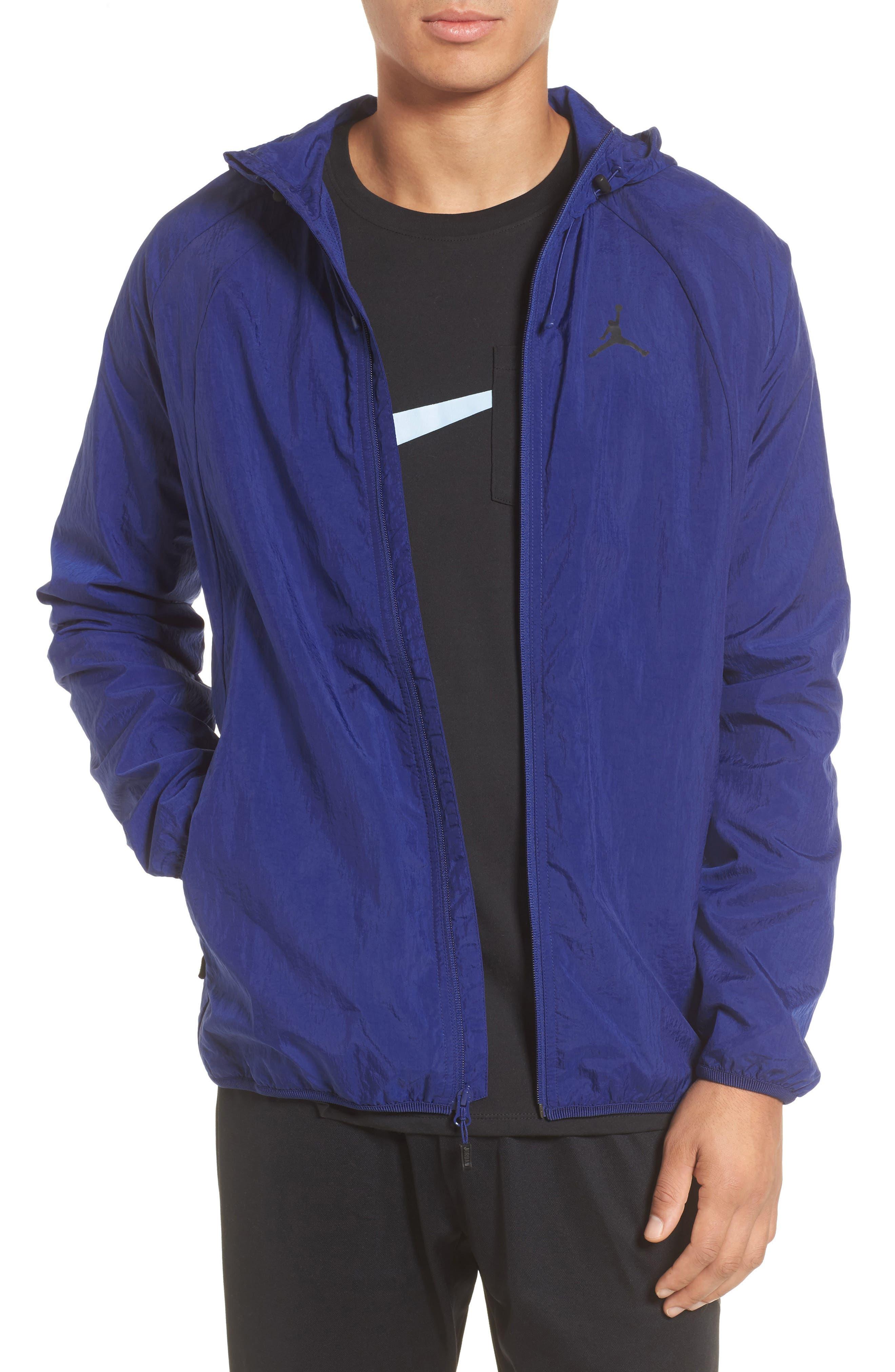 Wings Windbreaker Jacket,                         Main,                         color, Deep Royal Blue
