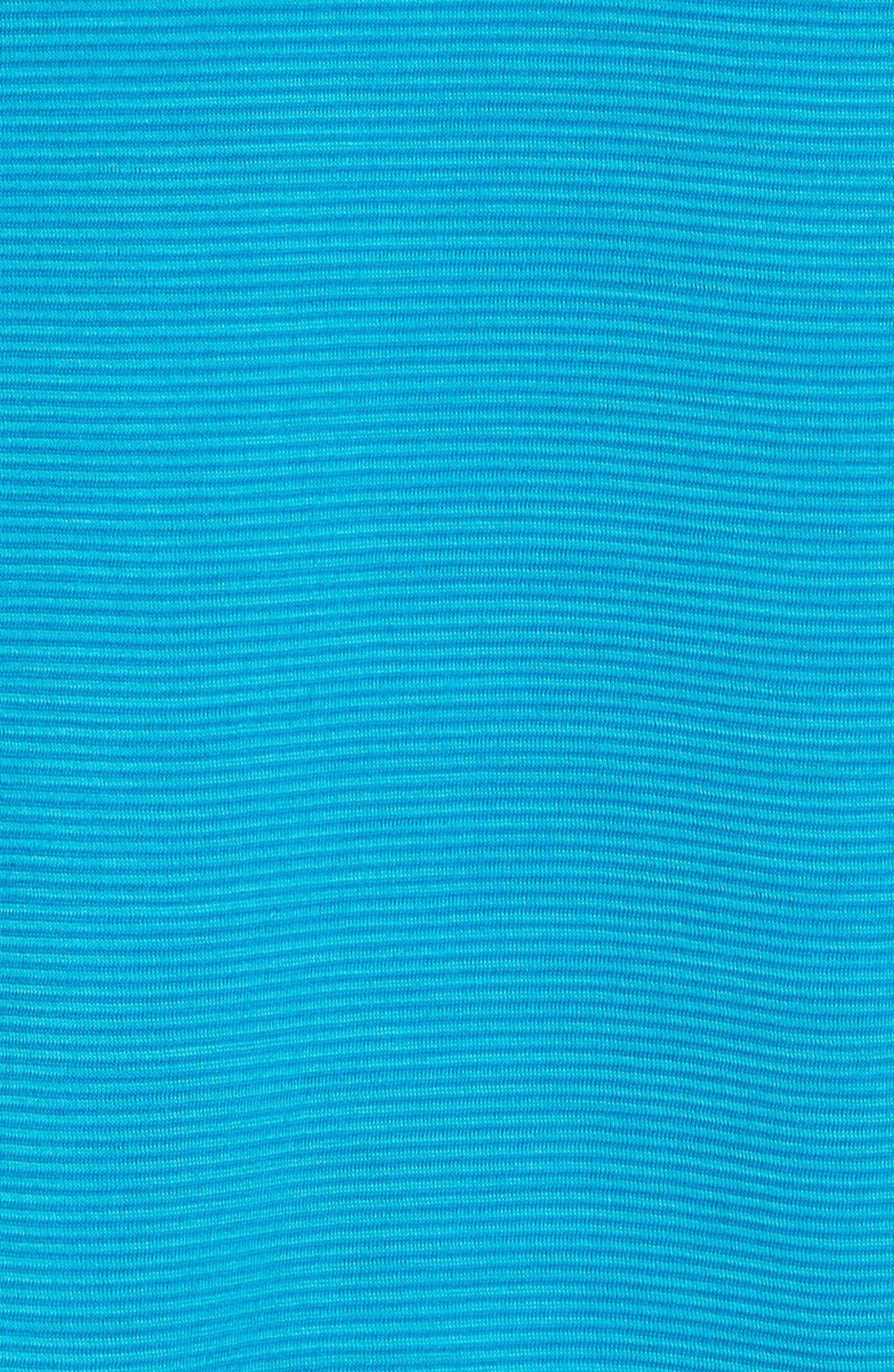 Merino 150 Wool Blend Hoodie,                             Alternate thumbnail 5, color,                             Sea Blue