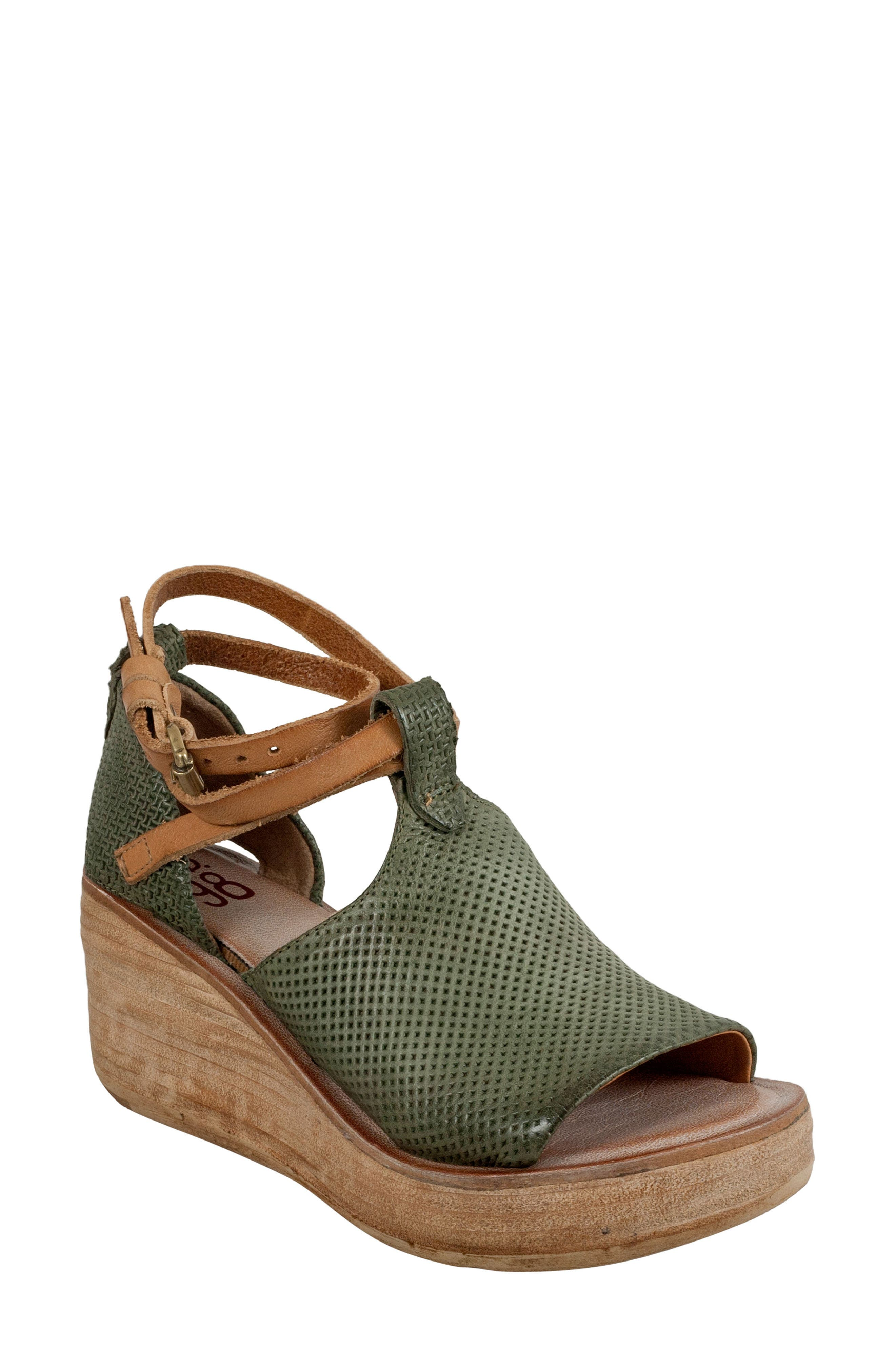 A.S.98 Nino Wedge Sandal (Women)