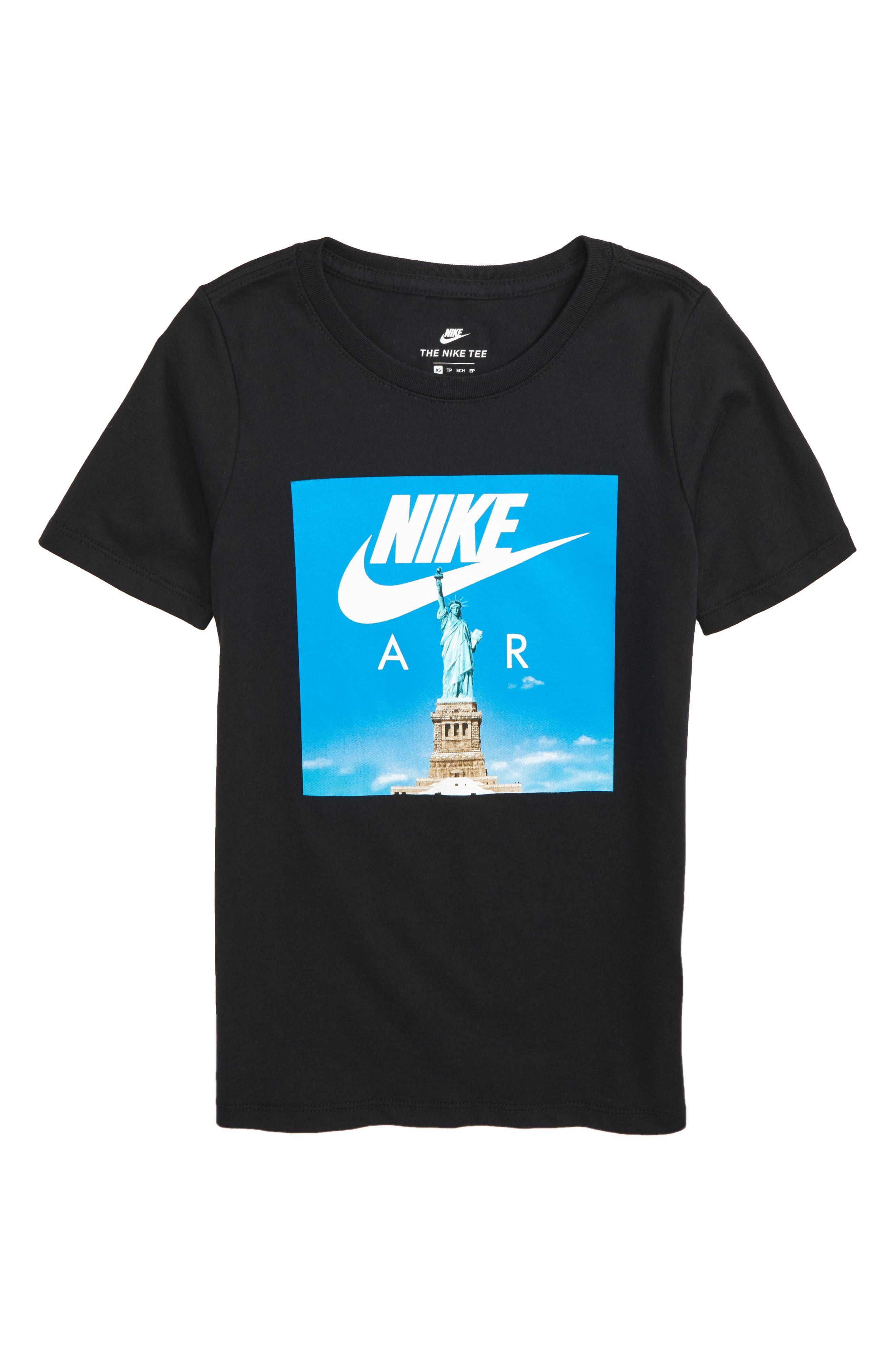 Sportswear Air Liberty T-Shirt,                             Main thumbnail 1, color,                             Black
