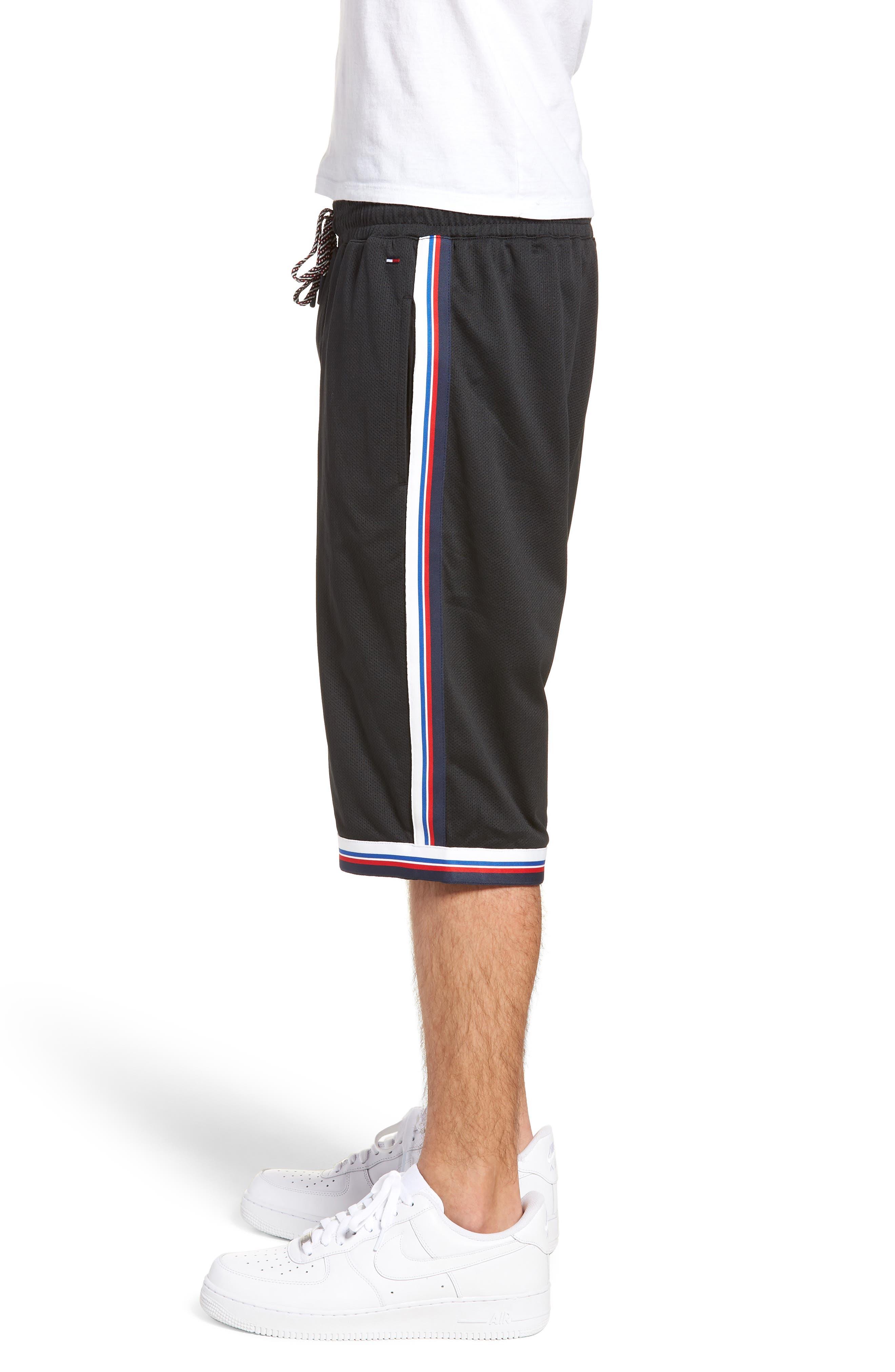 Lightweight Basketball Shorts,                             Alternate thumbnail 3, color,                             Tommy Black