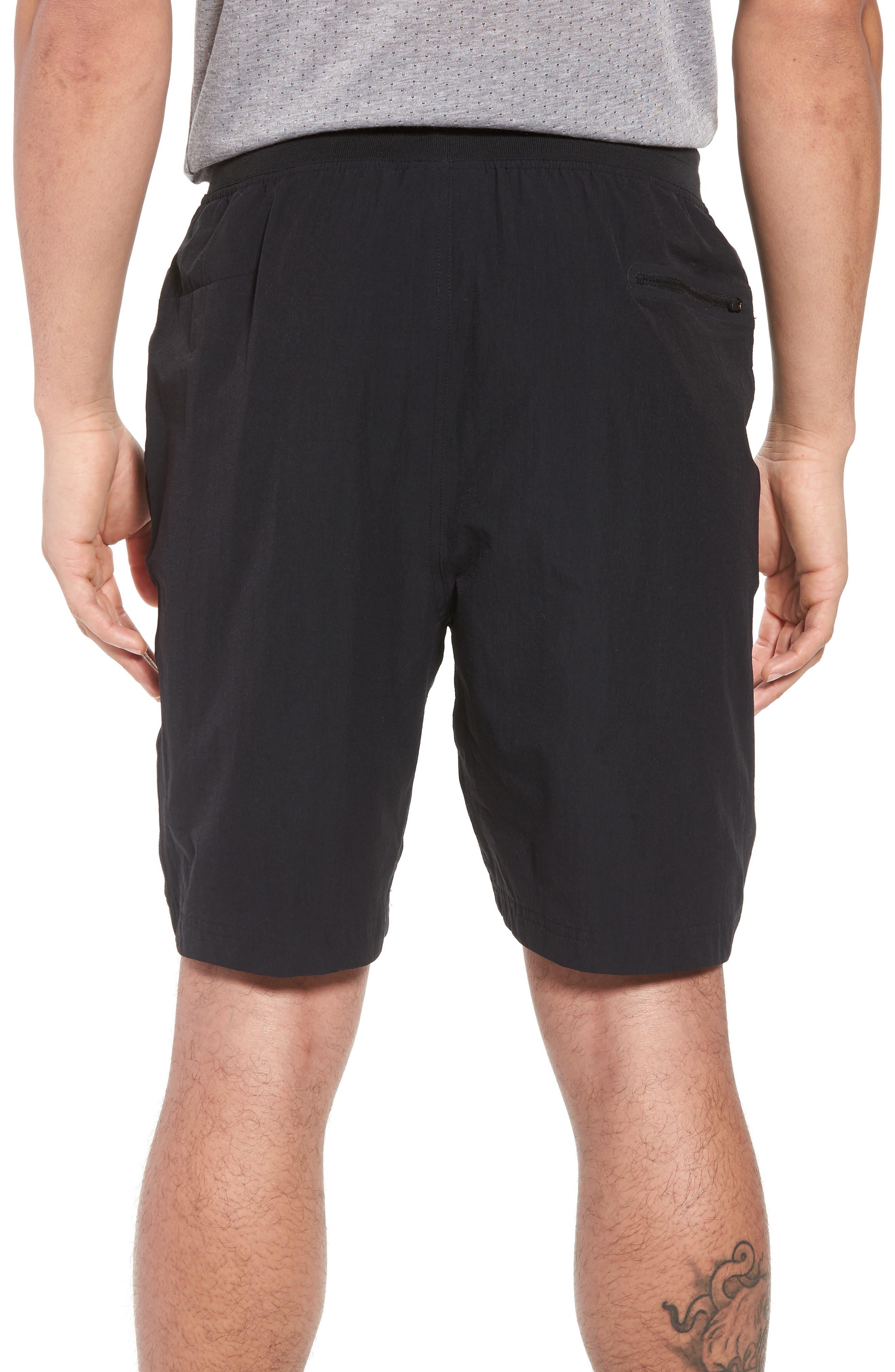 Sportswear Woven Shorts,                             Alternate thumbnail 2, color,                             Black/ Black