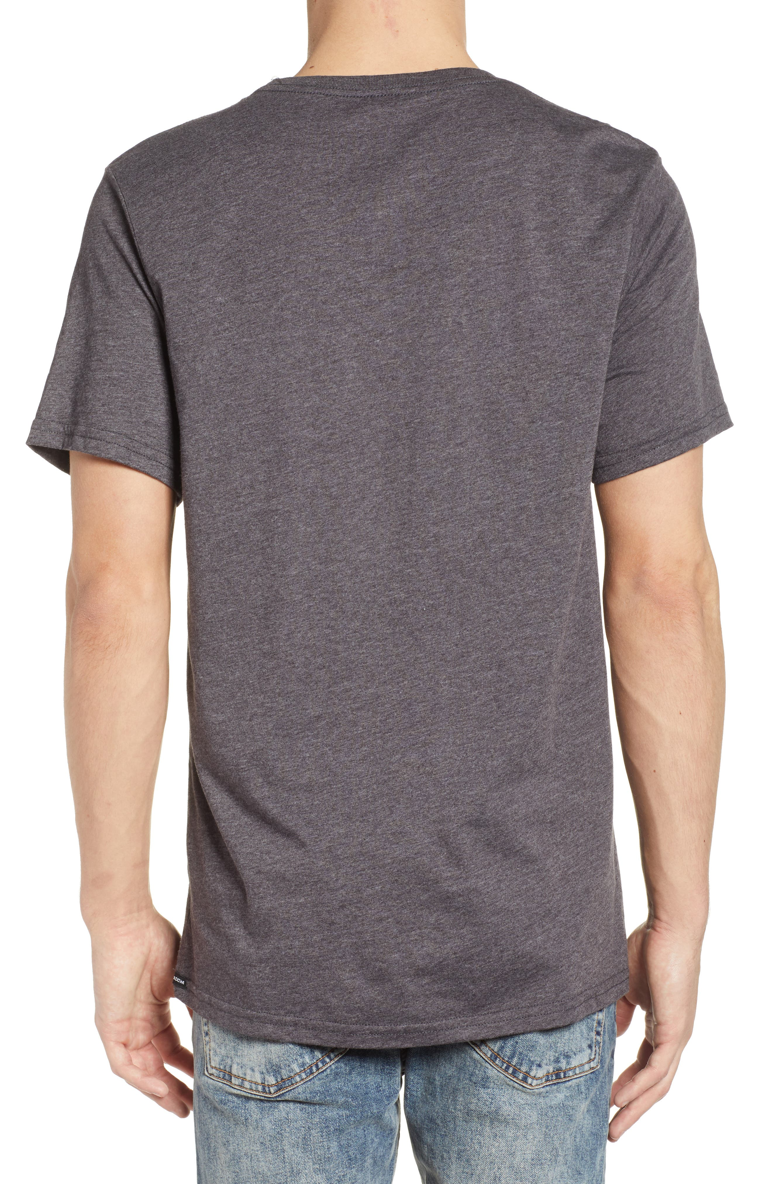 Tropical Depression T-Shirt,                             Alternate thumbnail 2, color,                             Black Heather