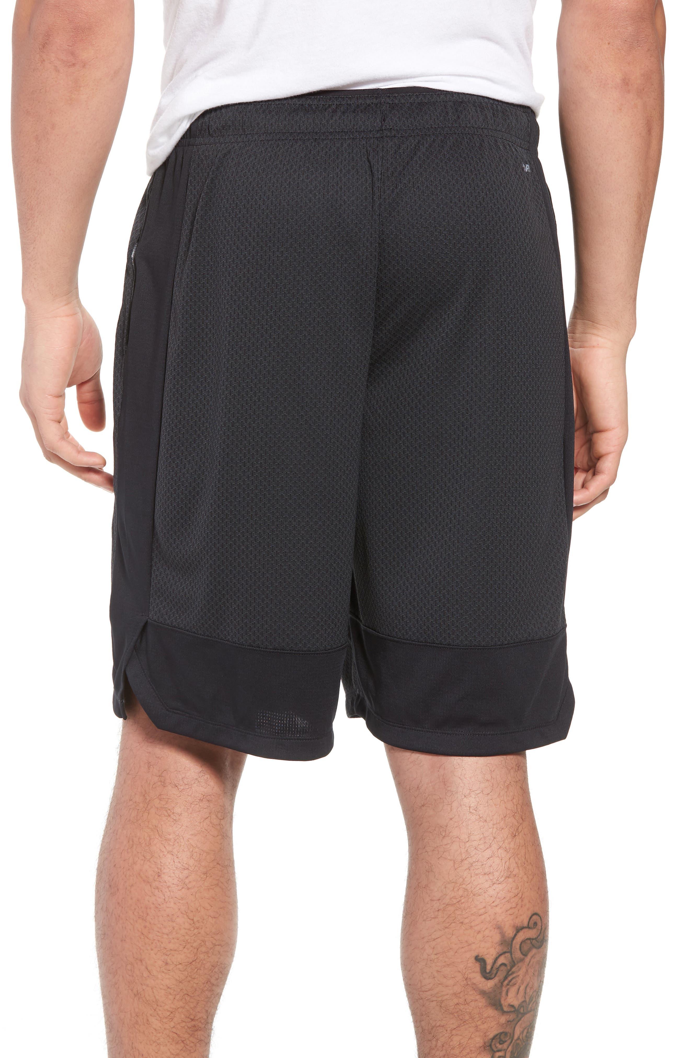 Tencity Knit Shorts,                             Alternate thumbnail 2, color,                             Black