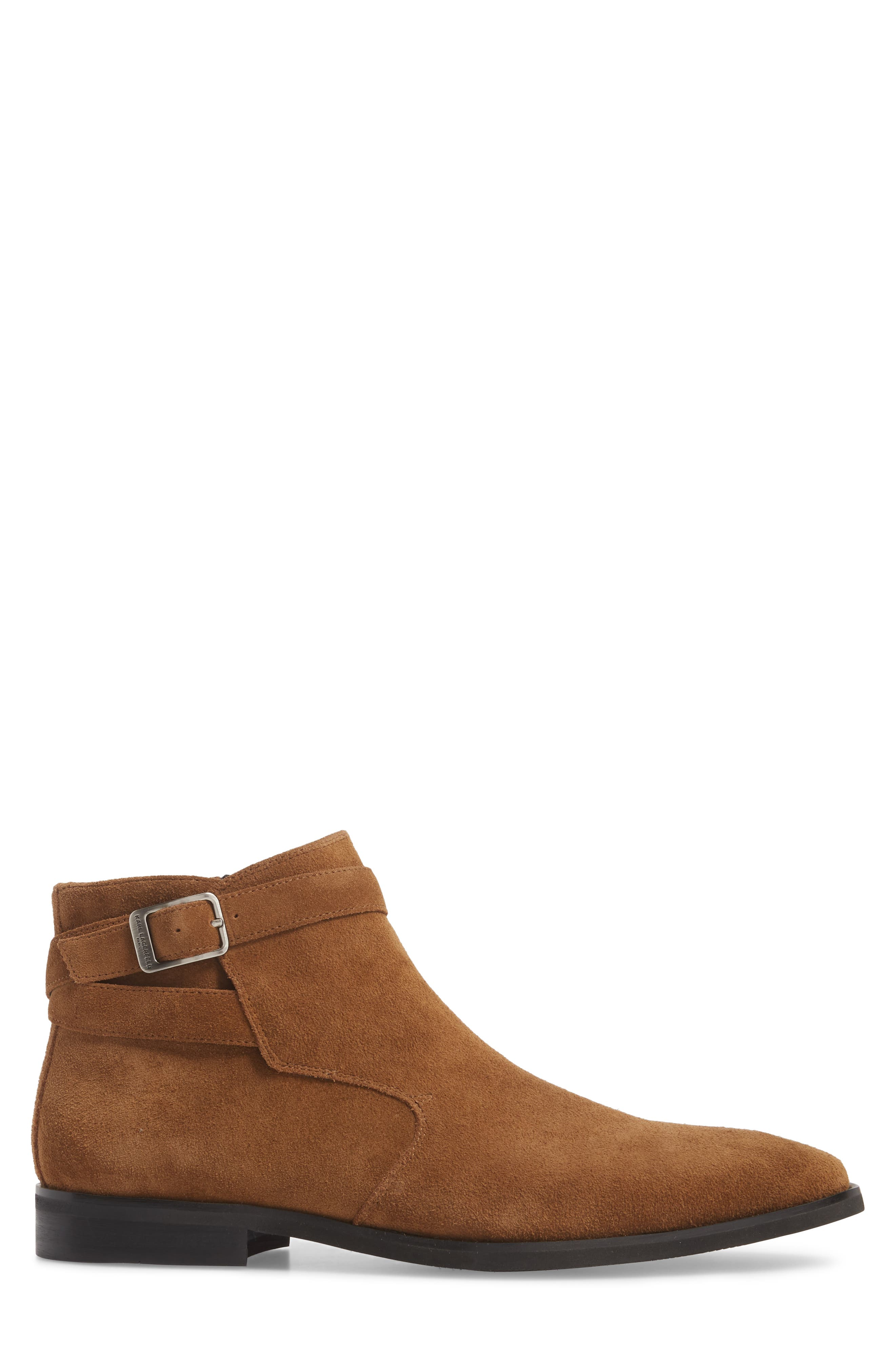Ankle Wrap Boot,                             Alternate thumbnail 3, color,                             Desert