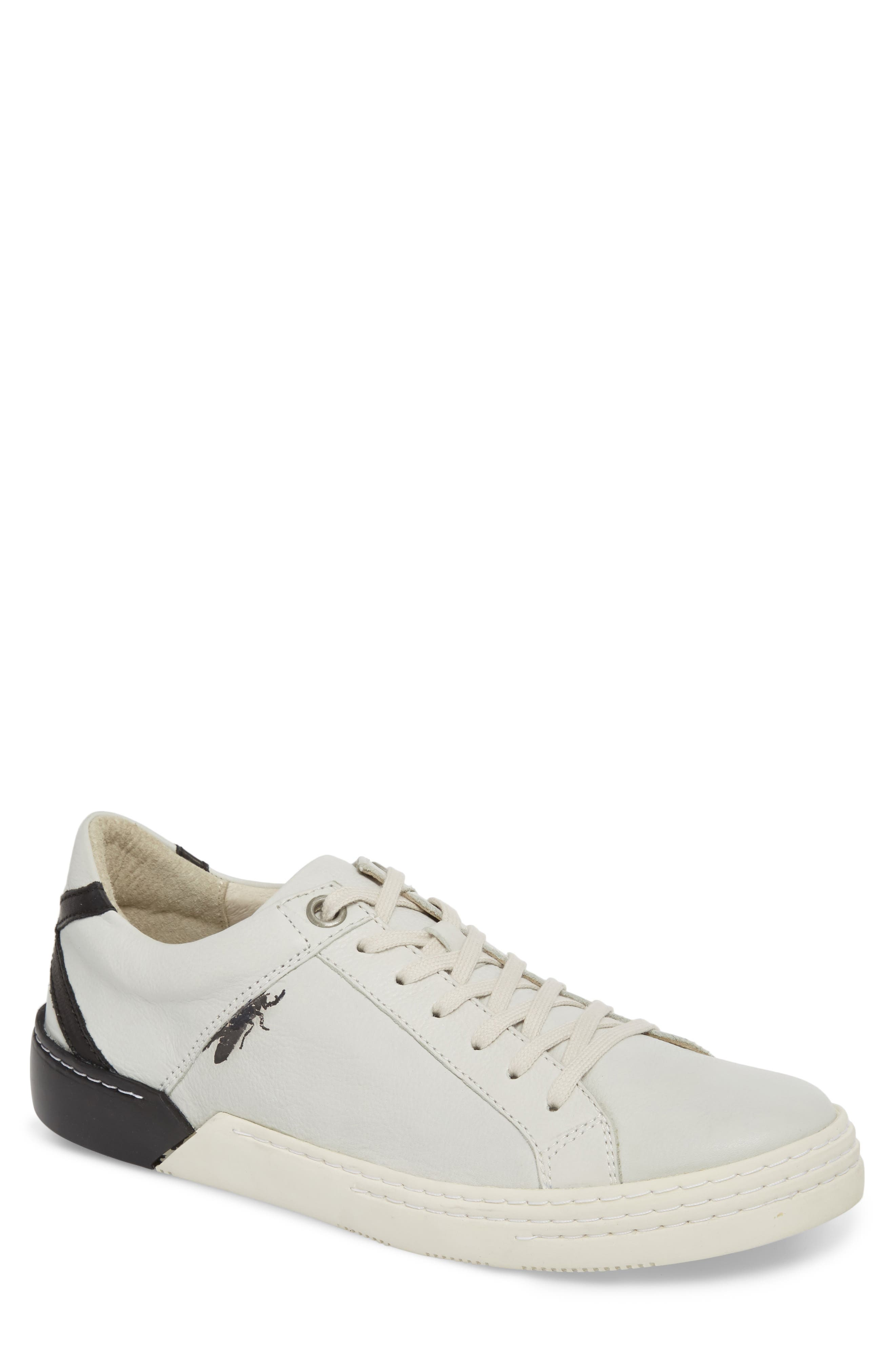 Sene Low Top Sneaker,                             Main thumbnail 1, color,                             Off White Leather