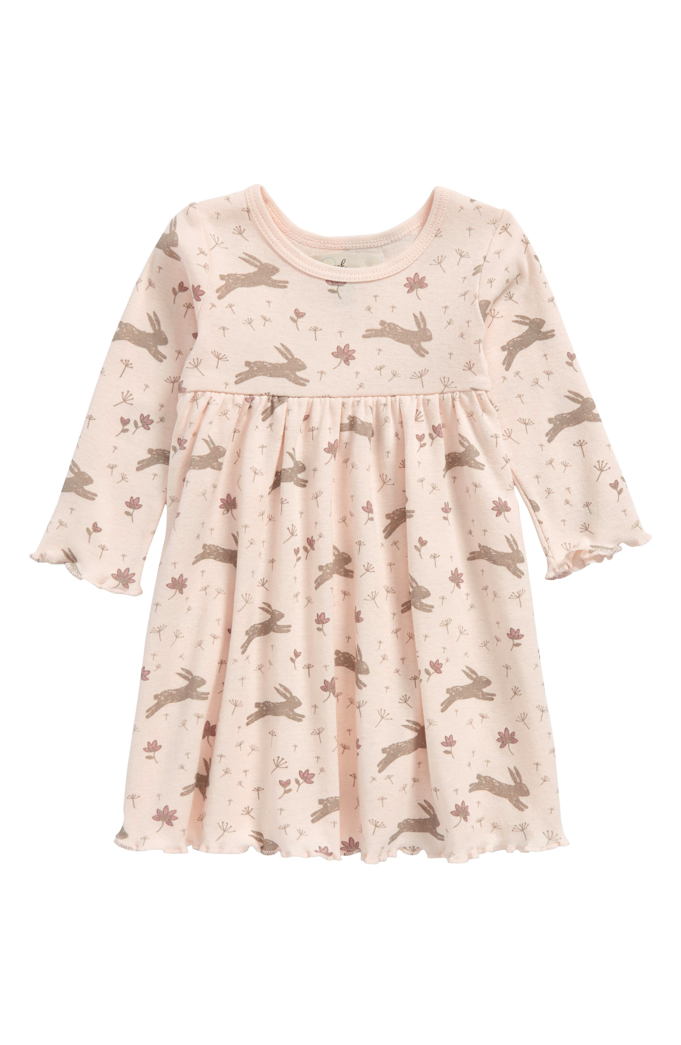 Peek Bunny Dress (Baby Girls)