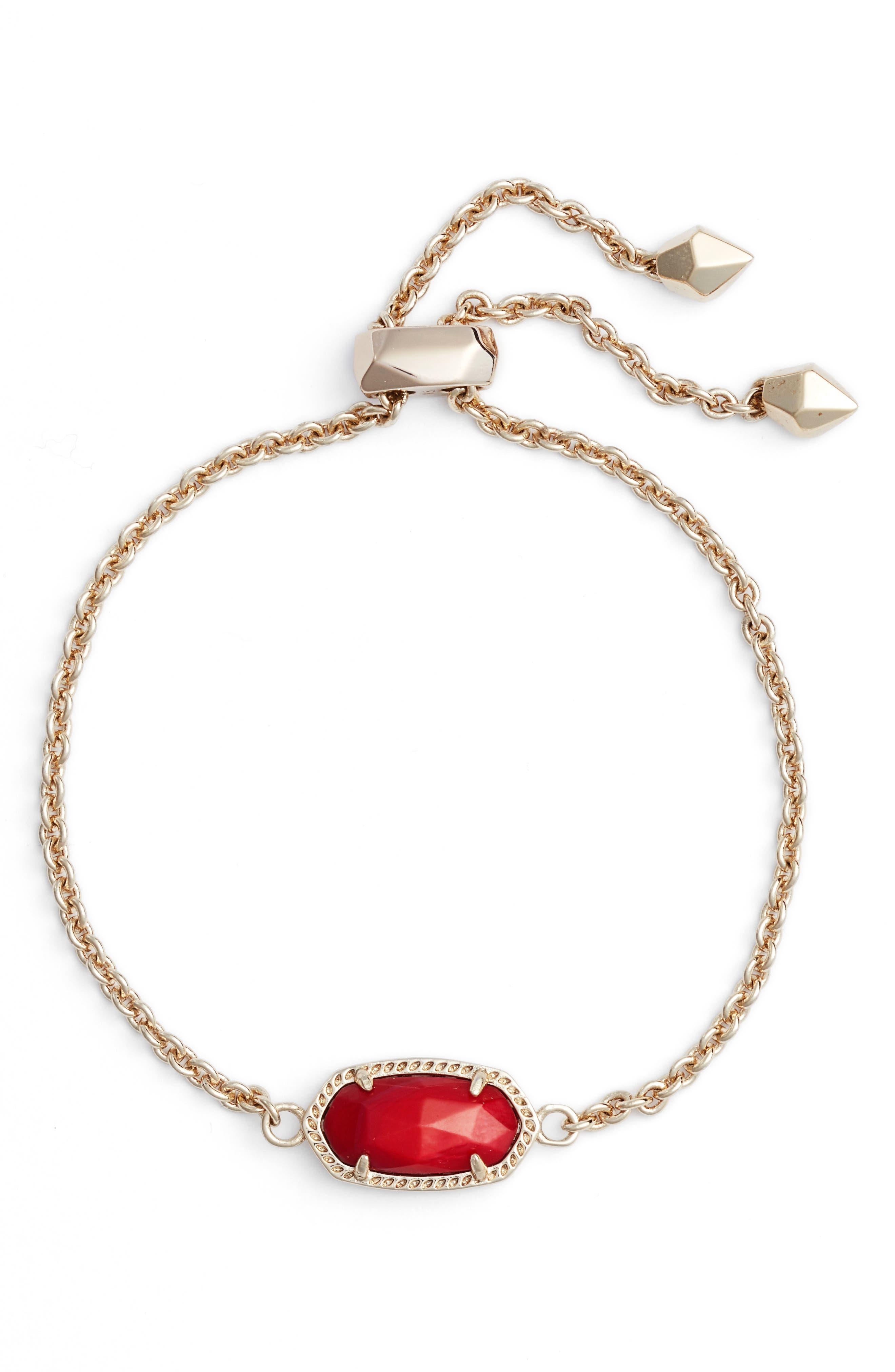 Elaina Bracelet,                         Main,                         color, Red Mop/ Gold