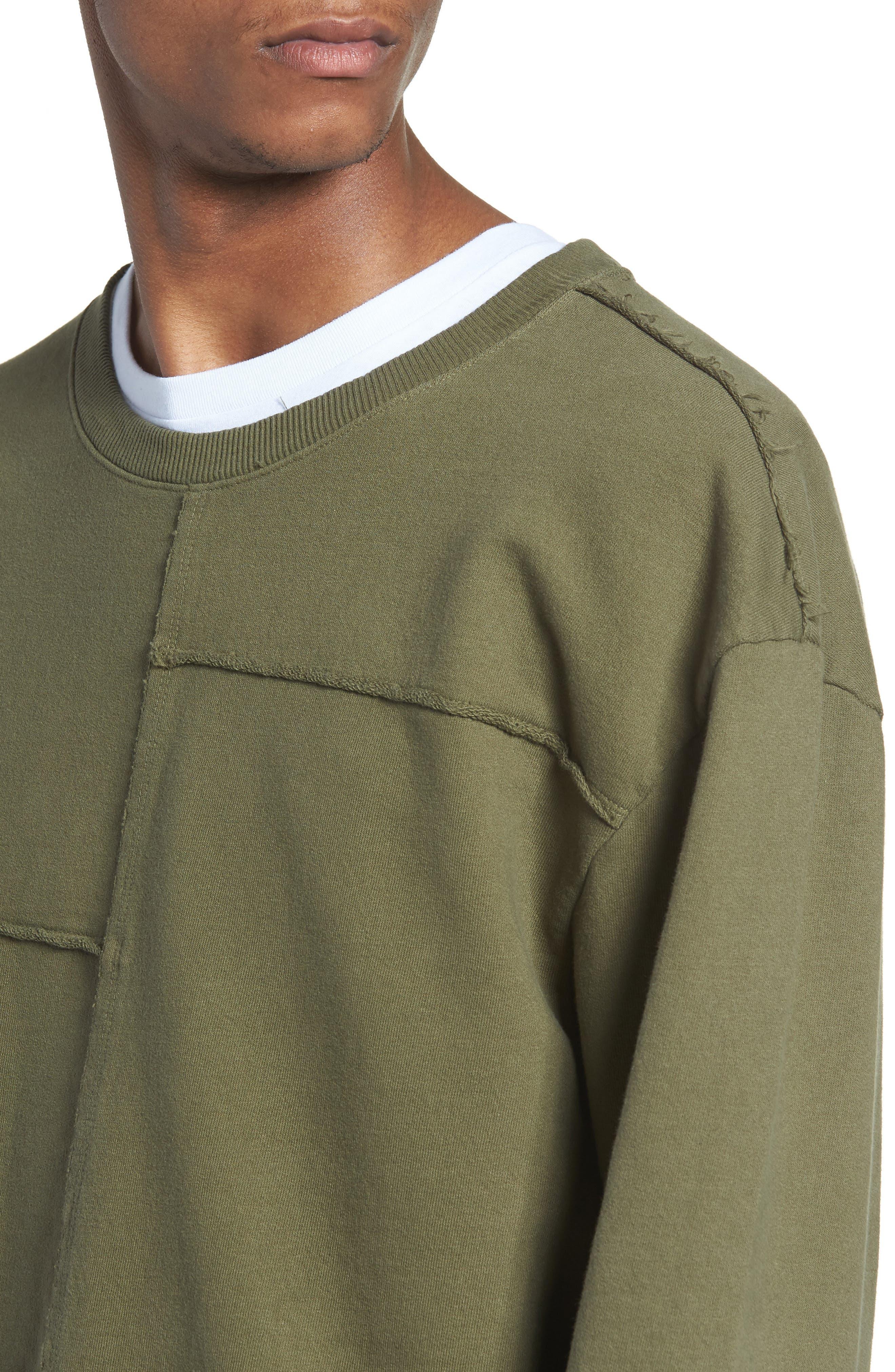 Alternate Image 4  - The Rail Splice Sweatshirt