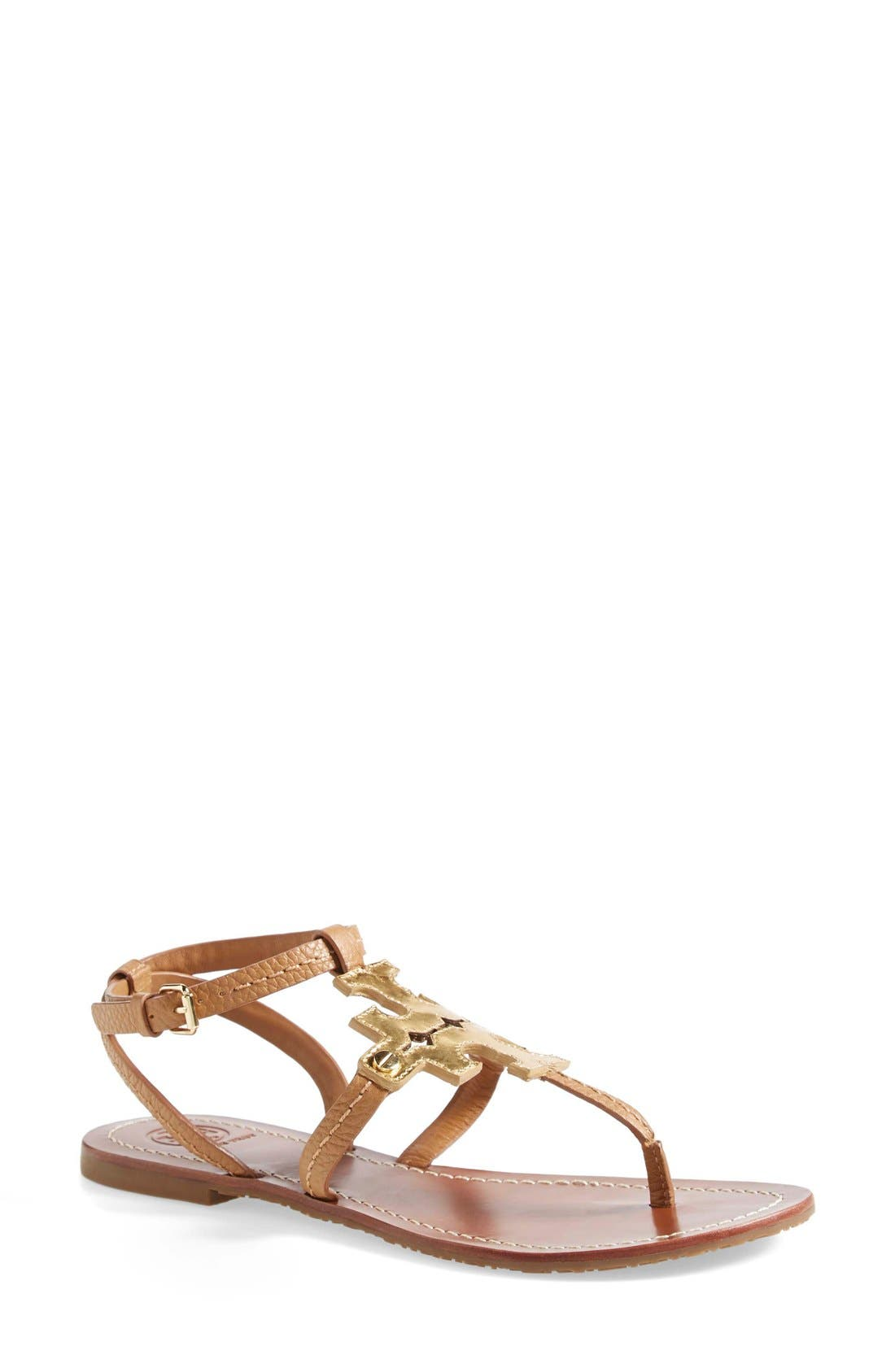 Alternate Image 1 Selected - Tory Burch 'Chandler' Leather Sandal (Women)