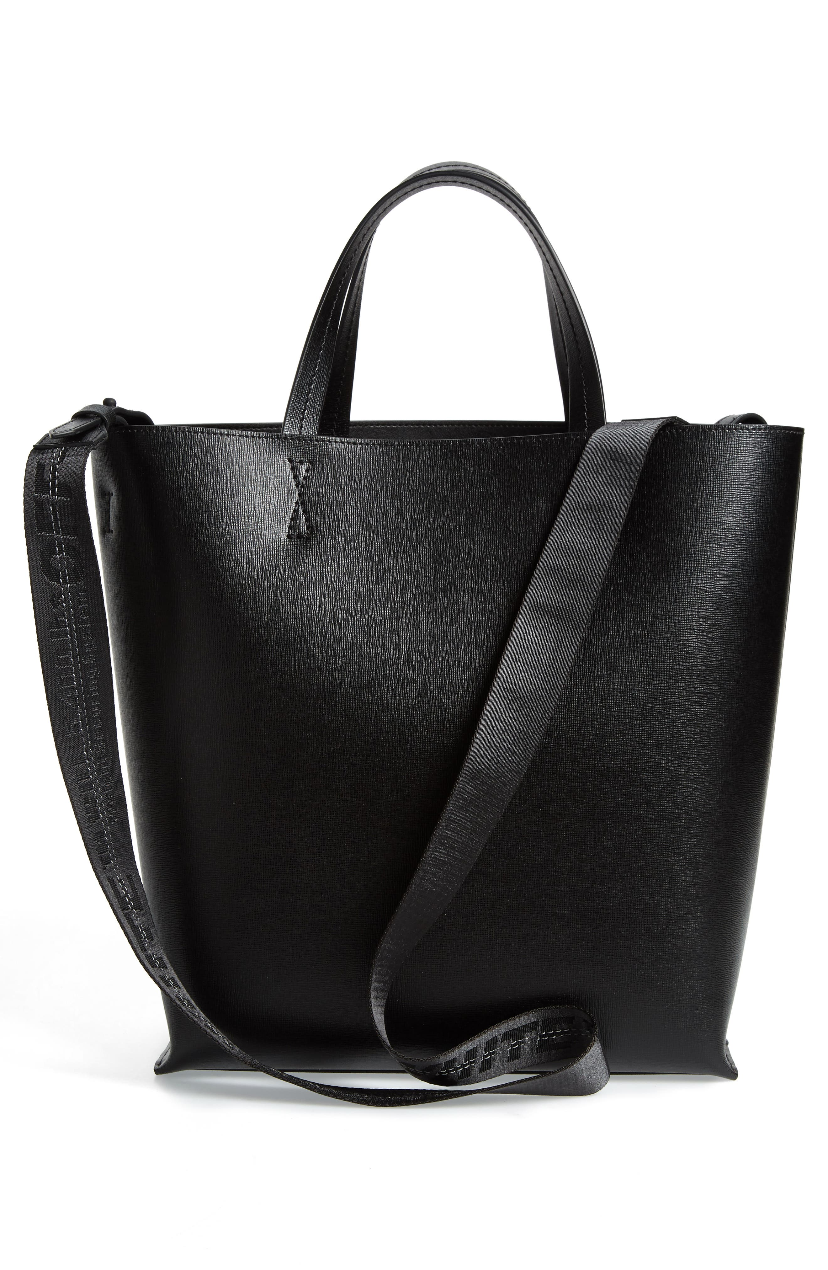 Alternate Image 3  - Off-White Large Sculpture Leather Tote