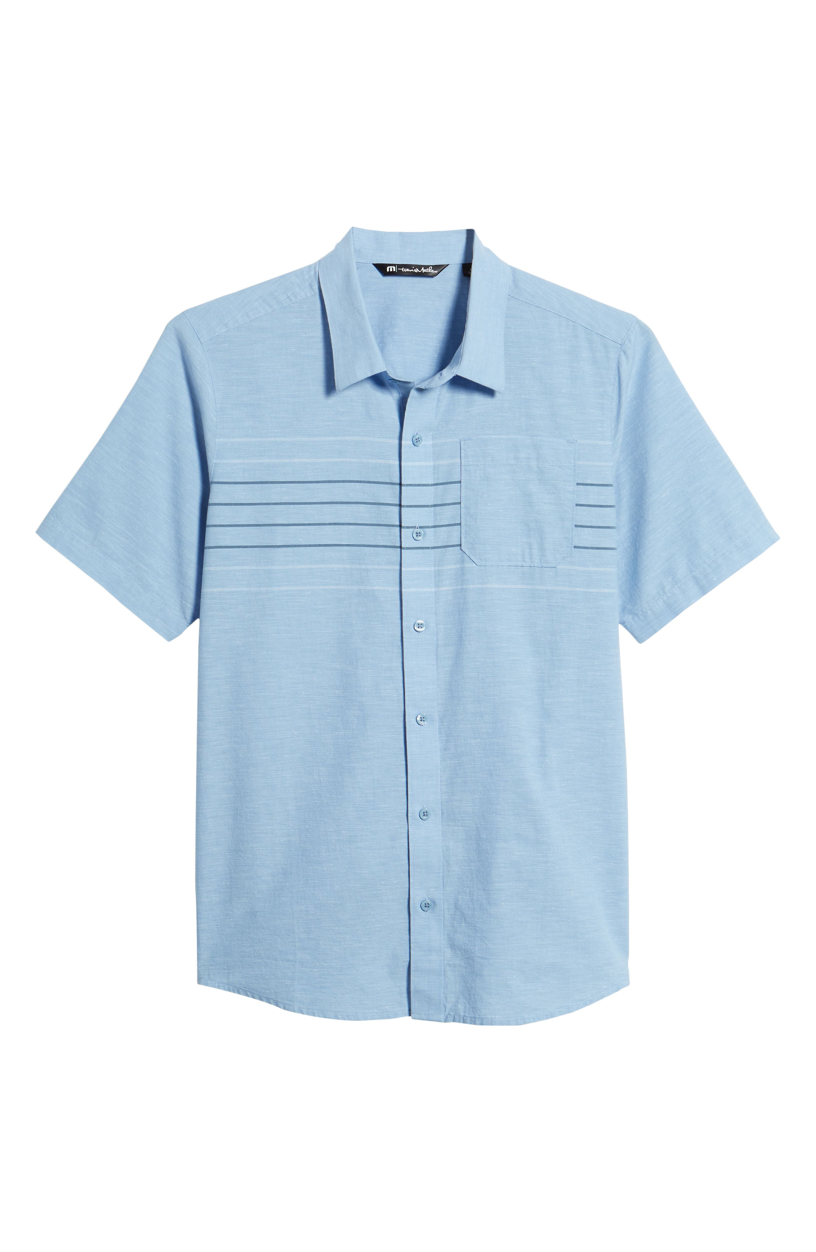 Canal Street Sport Shirt,                             Alternate thumbnail 6, color,                             Heather Allure