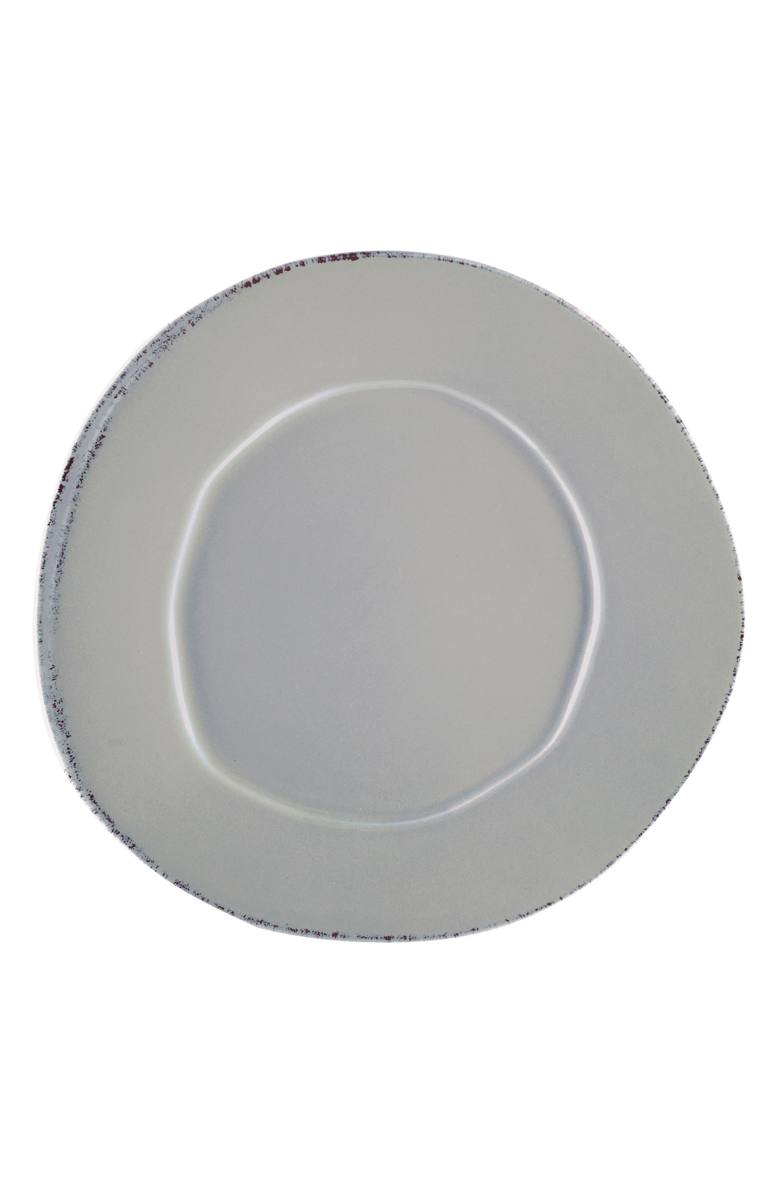 Lastra Stoneware Dinner Plate,                             Main thumbnail 1, color,                             Gray