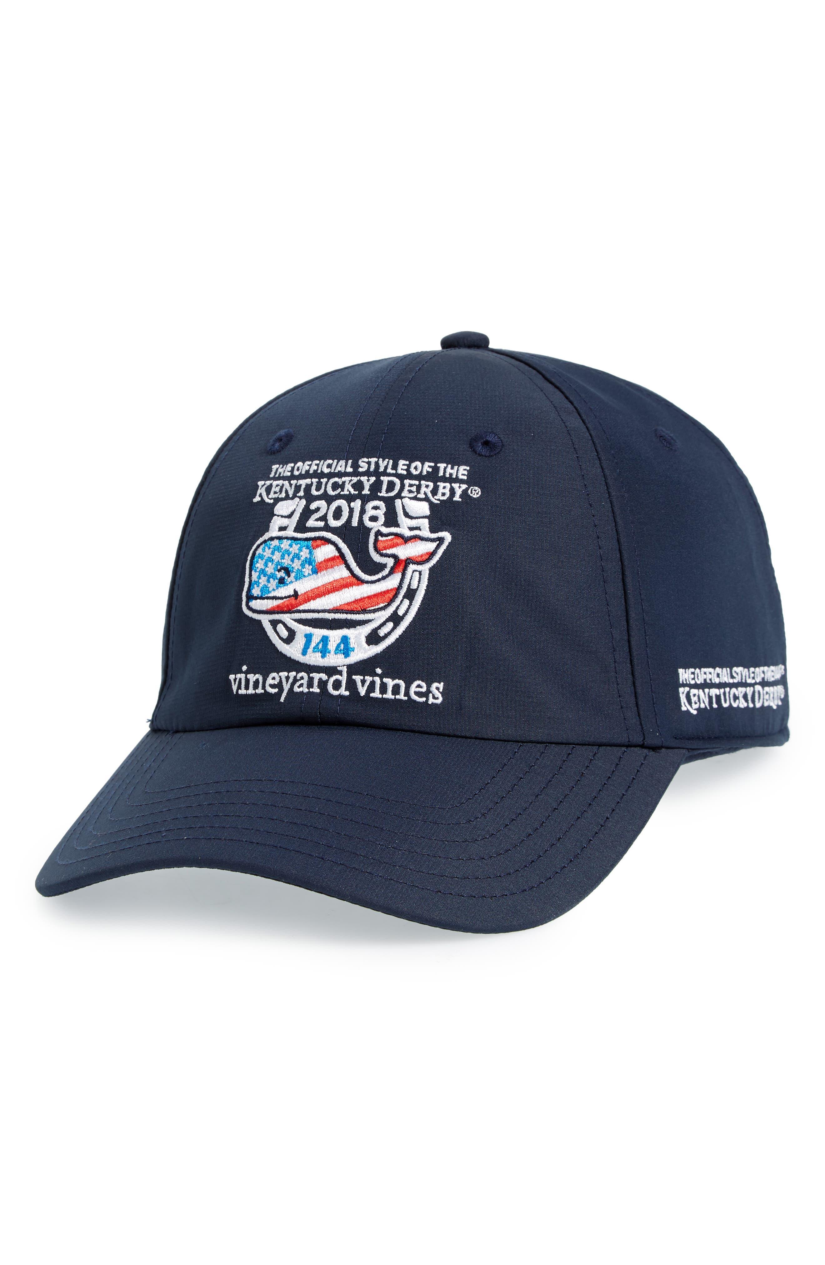 2018 Kentucky Derby<sup>®</sup> Ball Cap,                             Main thumbnail 1, color,                             Vineyard Navy