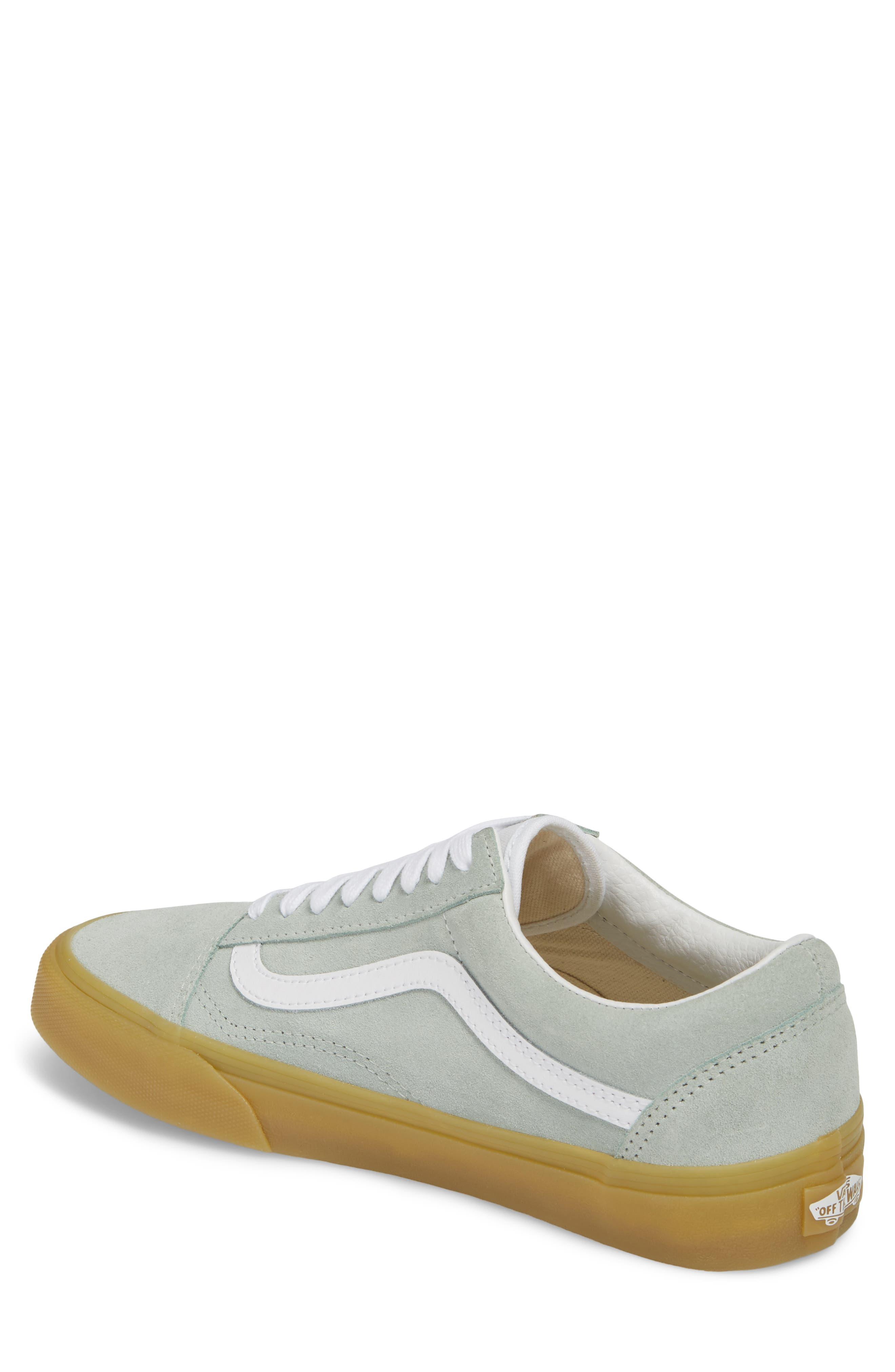 Gum Old Skool Sneaker,                             Alternate thumbnail 2, color,                             Metal Leather