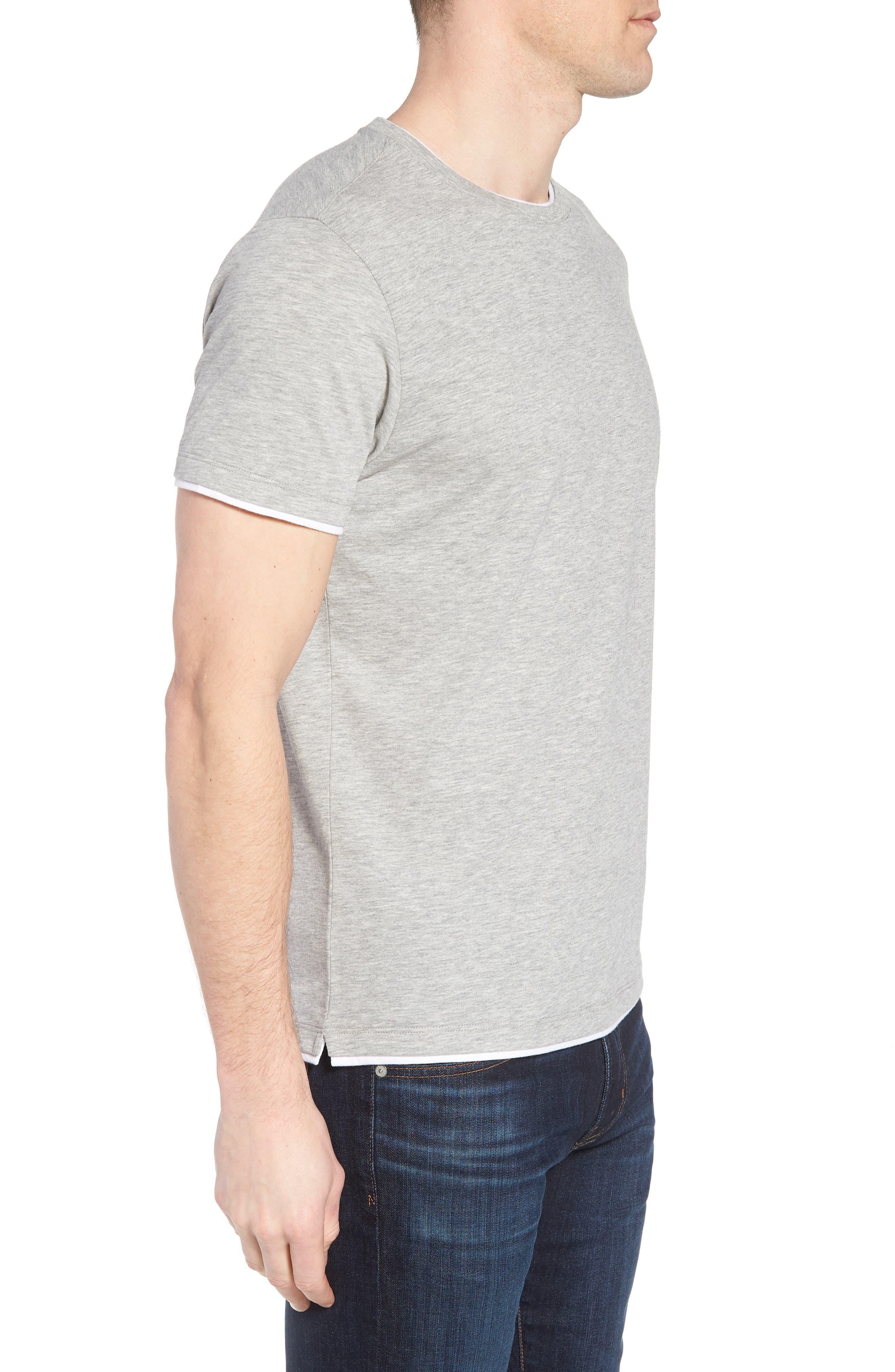 Halifax Crewneck T-Shirt,                             Alternate thumbnail 3, color,                             Light Grey